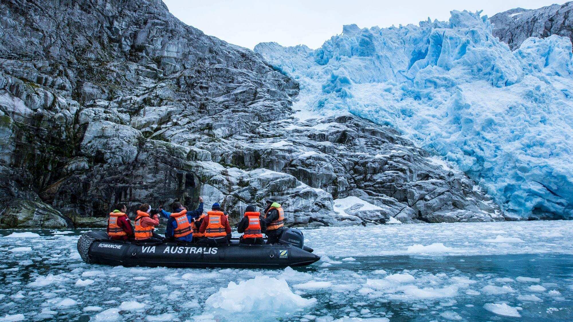 Circuit Chili Croisiere Australis Patagonie Excursion Glacier