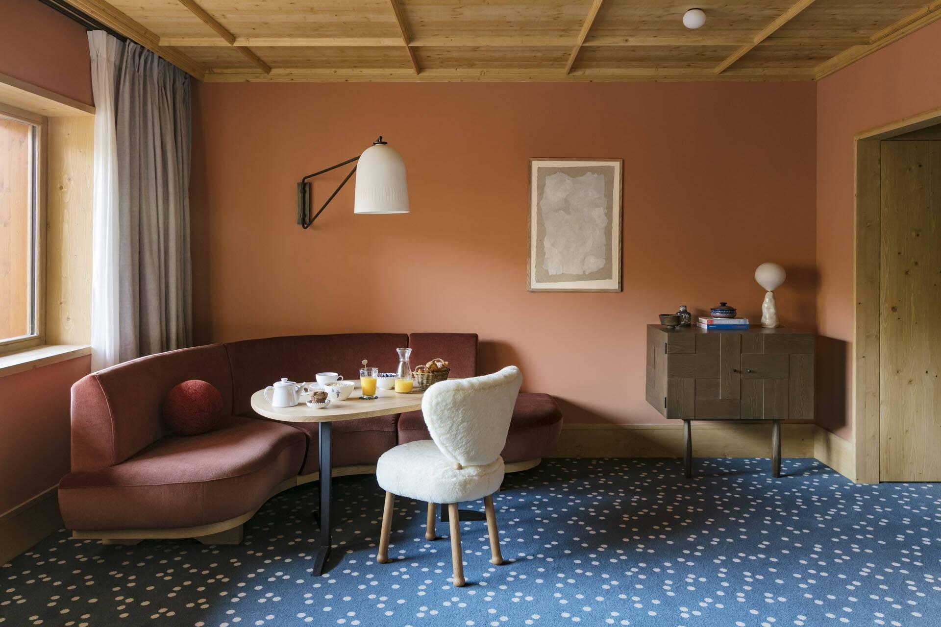 Le Coucou Meribel Suite Salon