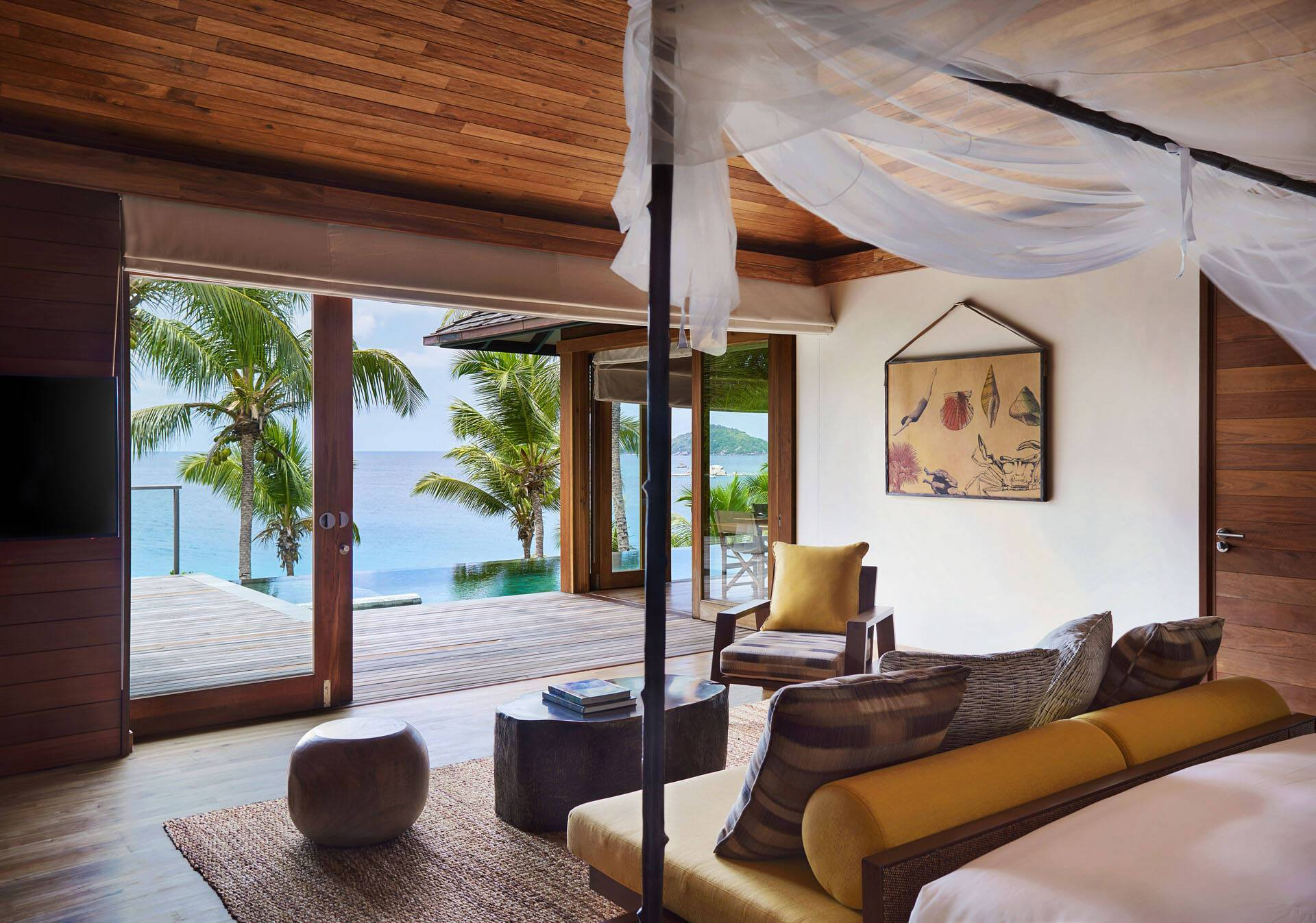 Seychelles Six Senses Zil Pasyon Two Bedroom Pool Villa