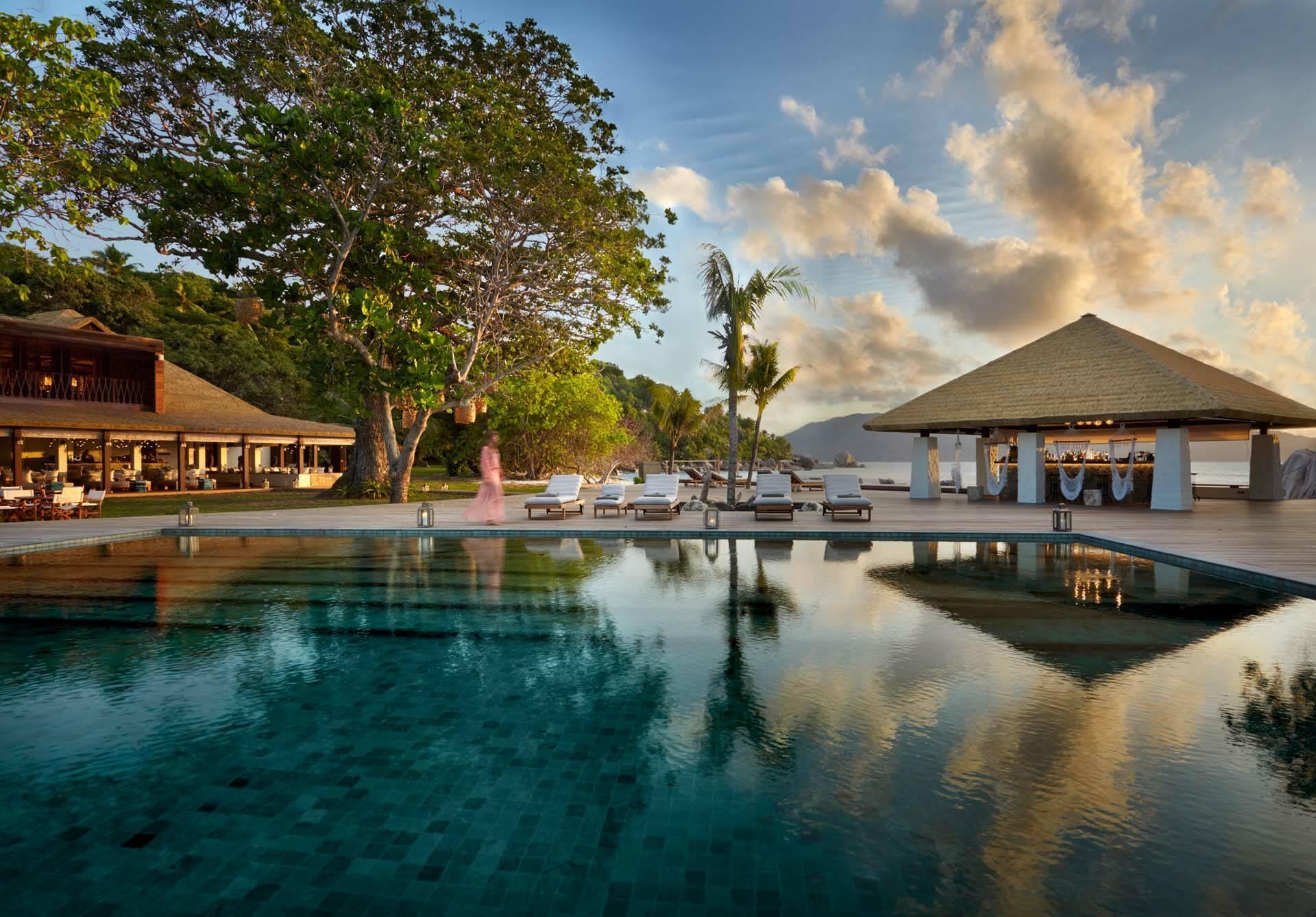 Seychelles Six Senses Zil Pasyon main pool