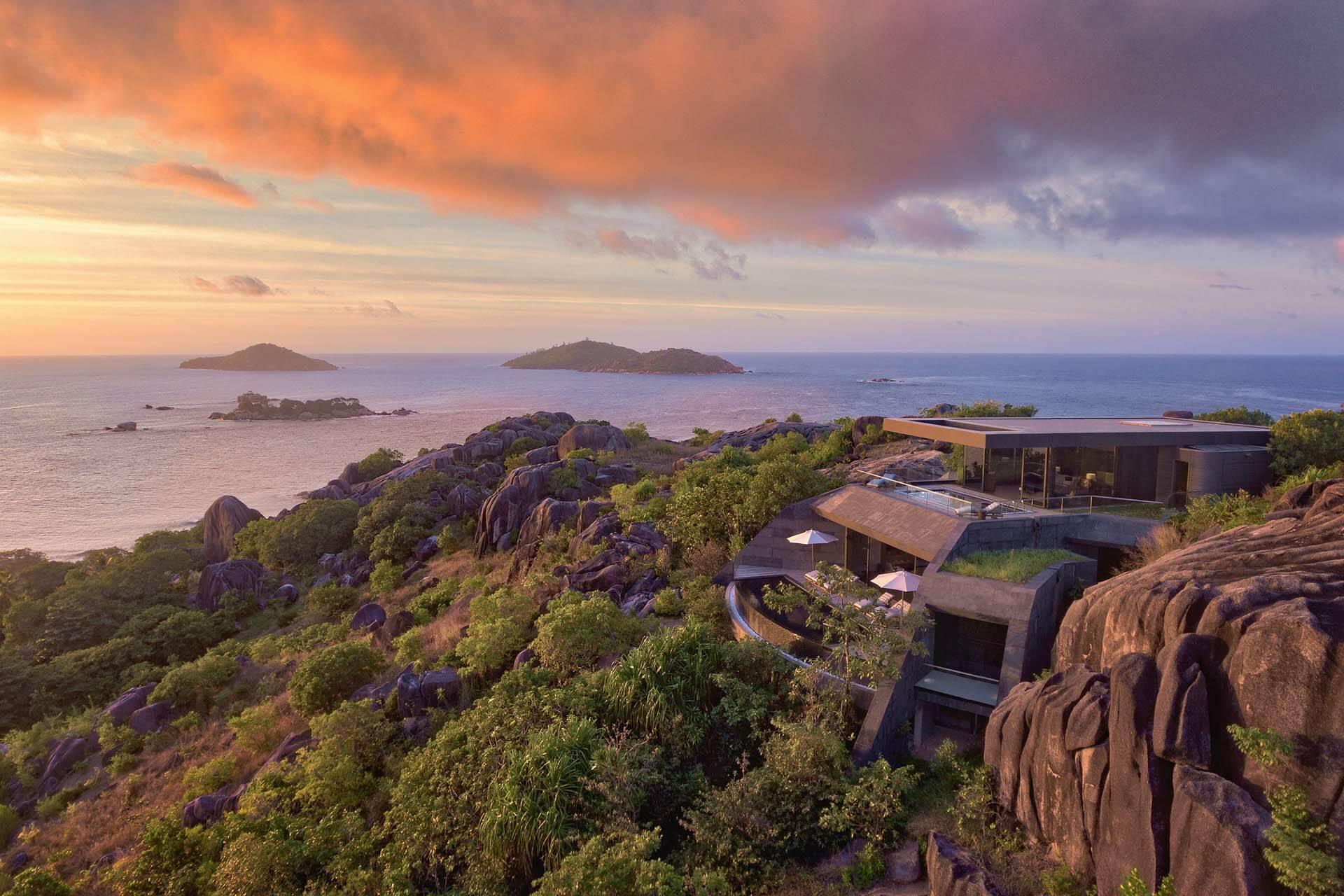 Seychelles Six Senses Zil Pasyon residence evening