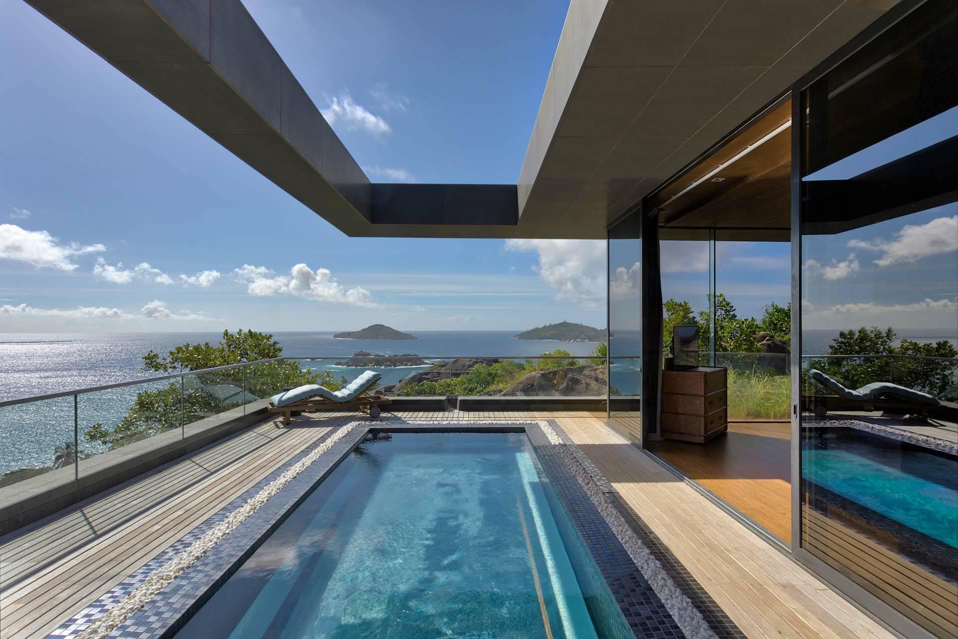 Seychelles Six Senses Zil Pasyon residence pool