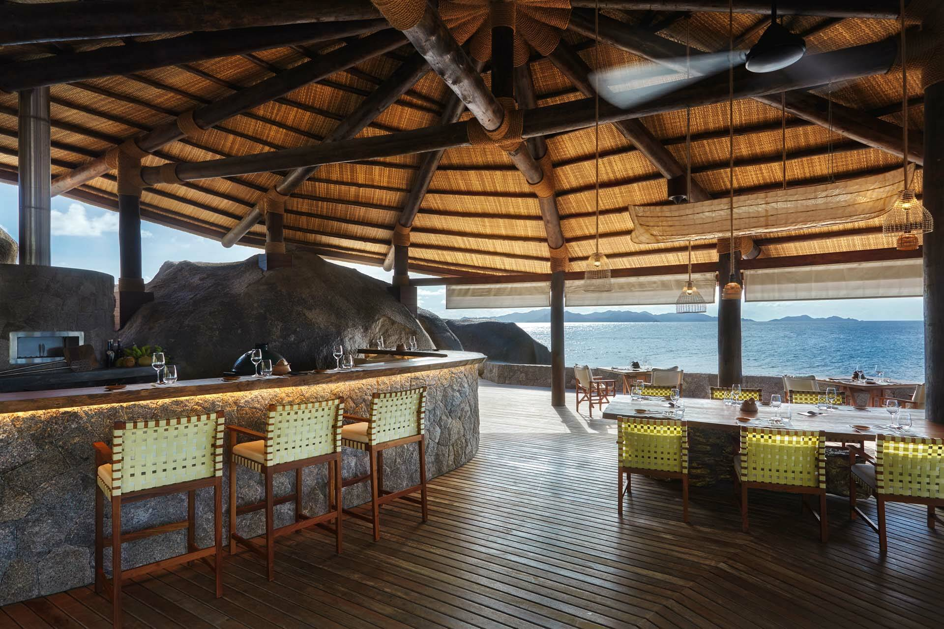 Seychelles Six Senses Zil Pasyon restaurant