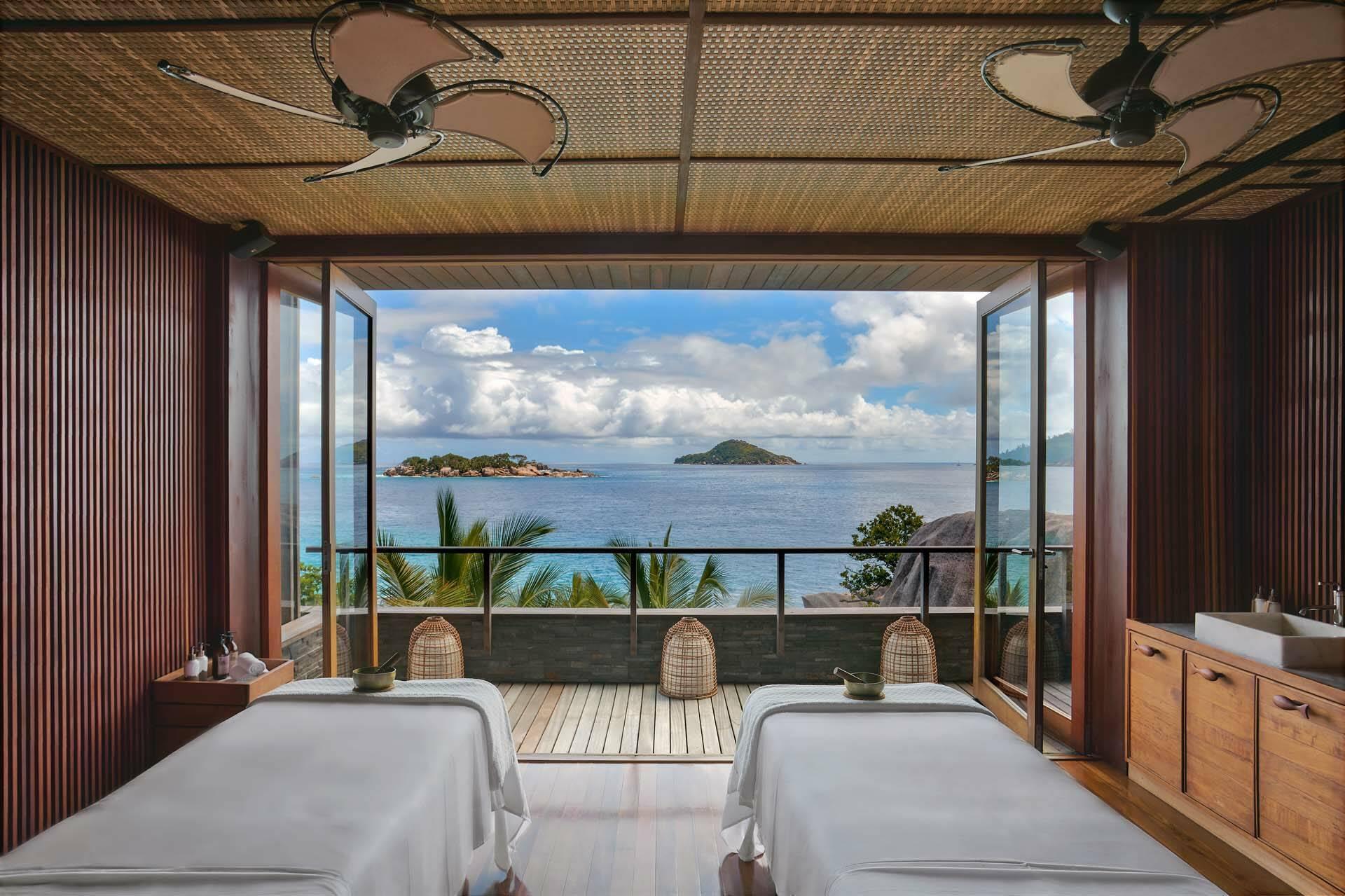 Seychelles Six Senses Zil Pasyon spa treatment