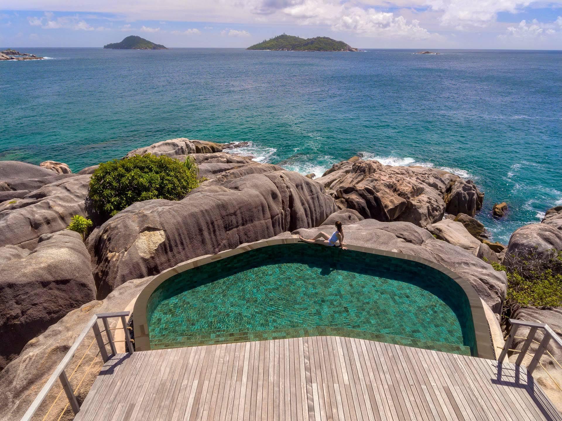 Seychelles Six Senses Zil Pasyon spa view