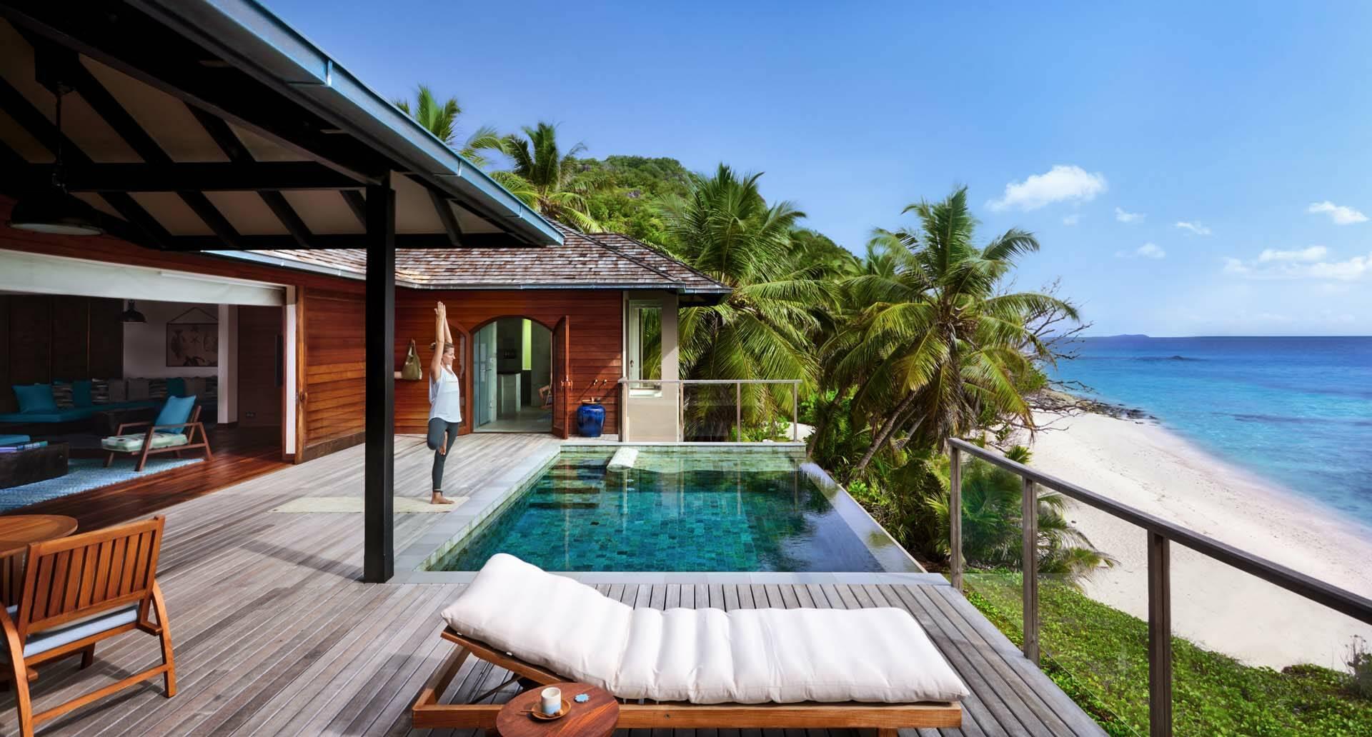 Seychelles Six Senses Zil Pasyon yoga