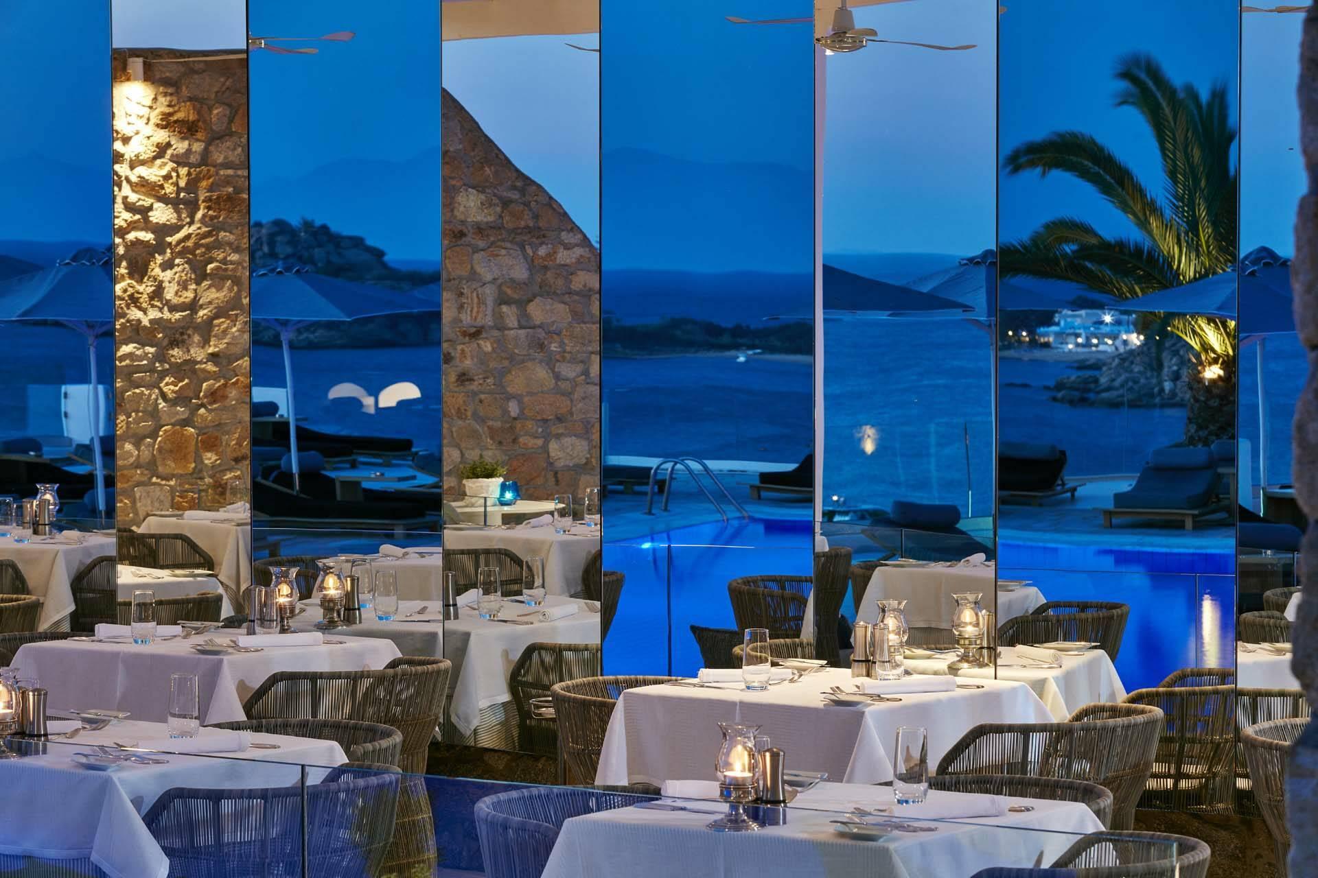 Myconian Ambassador Mykonos restaurant