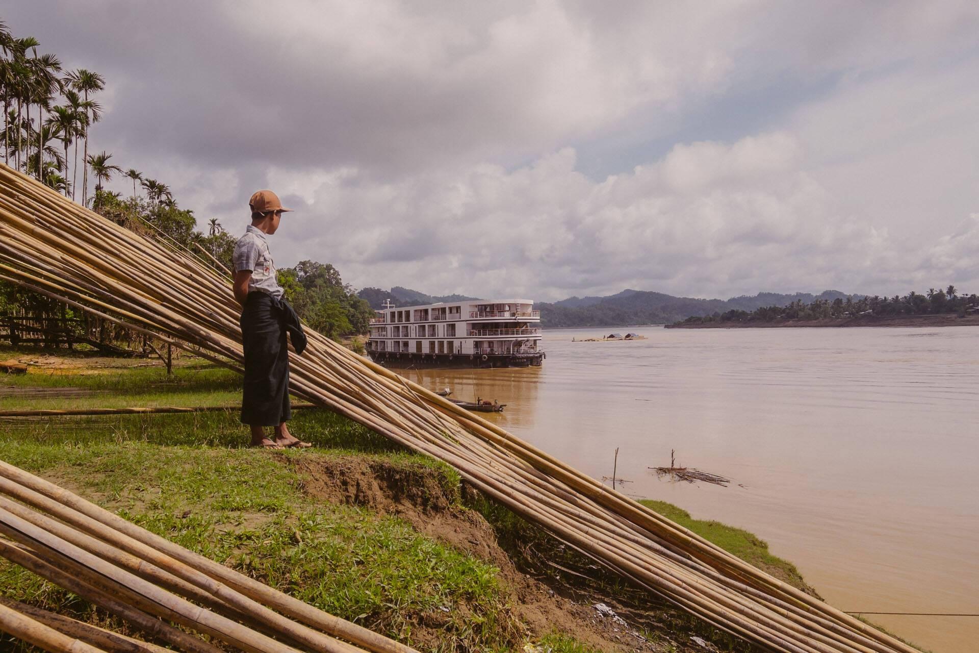 Circuit Myanmar Croisiere Sanctuary Ananda Bateau
