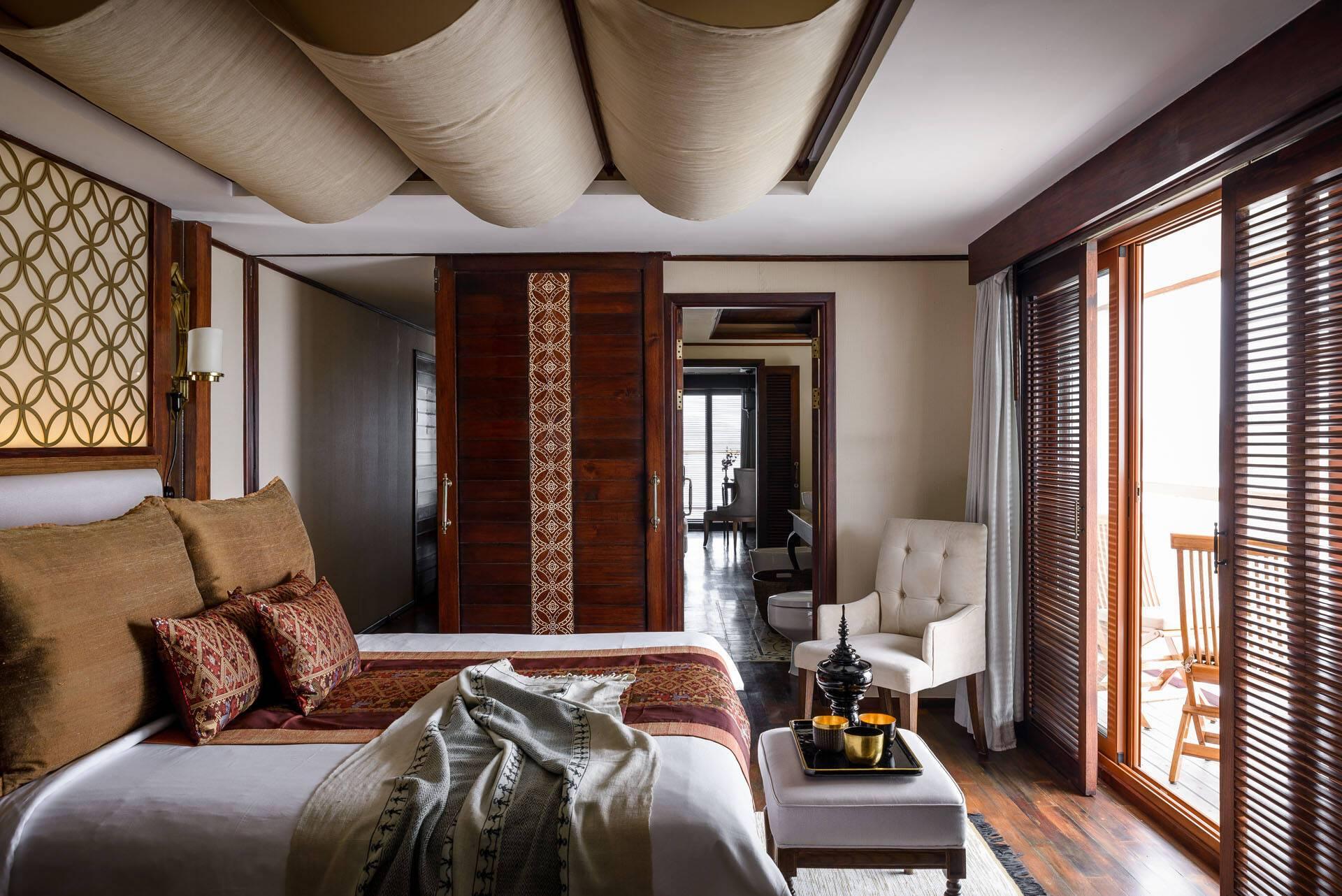 Circuit Myanmar Croisiere Sanctuary Ananda Chambre