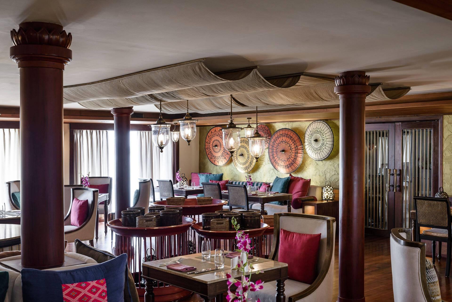 Circuit Myanmar Croisiere Sanctuary Ananda Restaurant