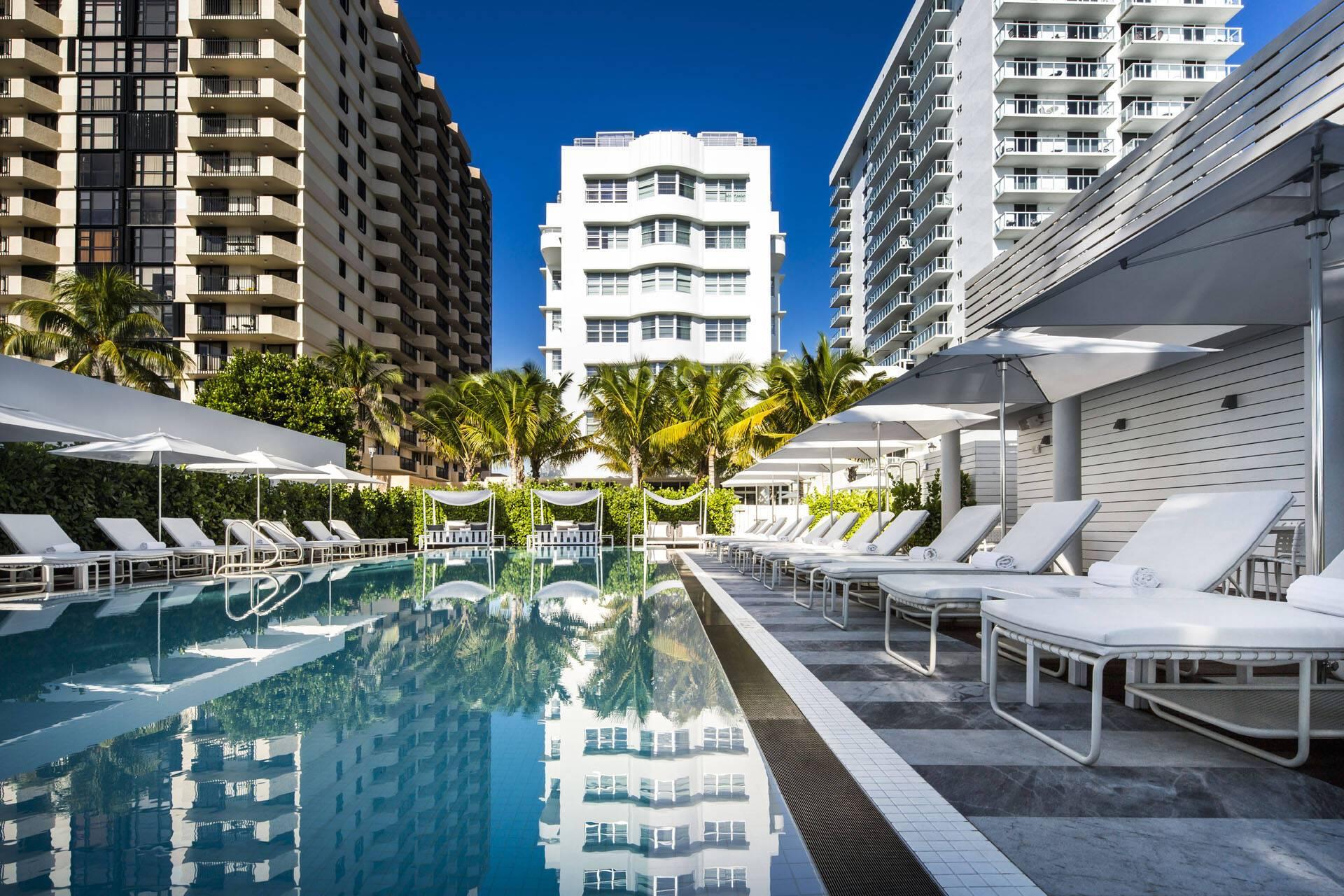 Miami COMO Metropolitan Piscine
