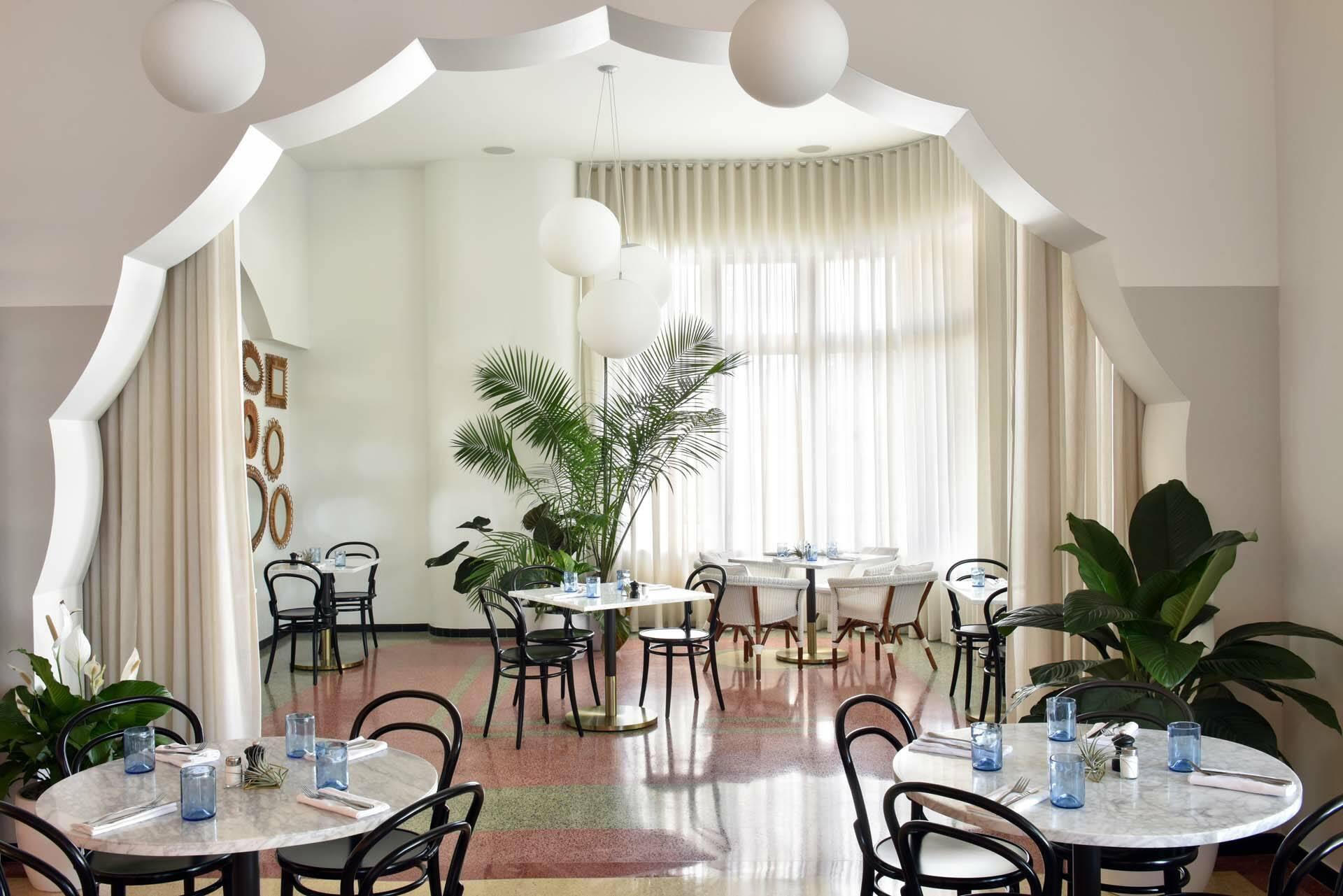 Miami COMO Metropolitan dining room