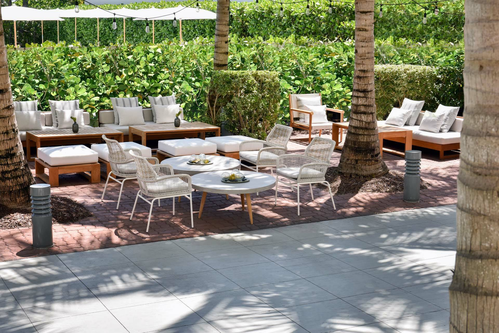 Miami COMO Metropolitan garden terrasse