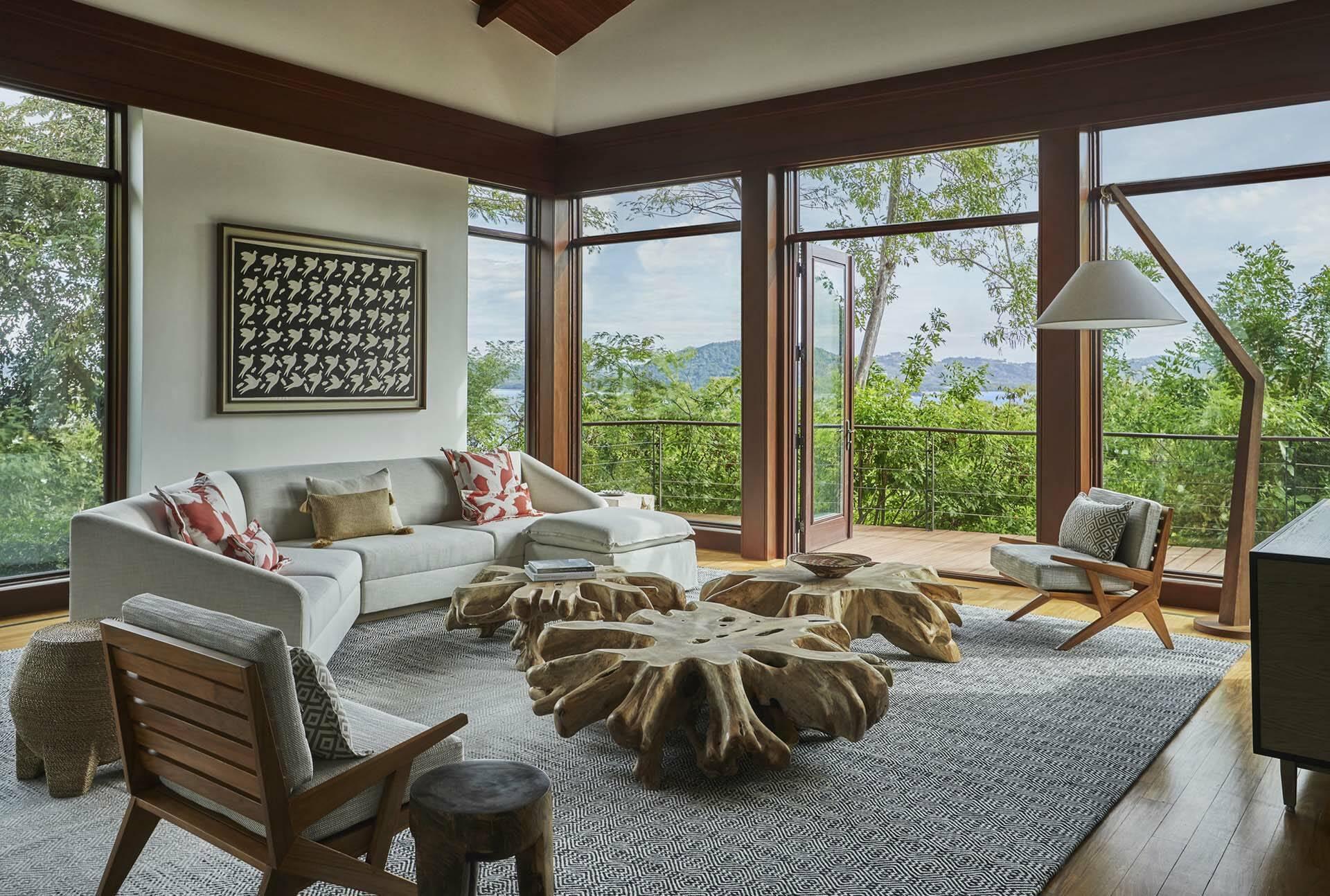 Costa Rica Four Seasons Papagayo suite salon terrasse