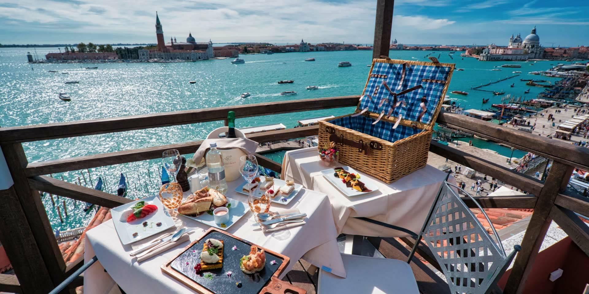 Venise Londra Palace pique nique