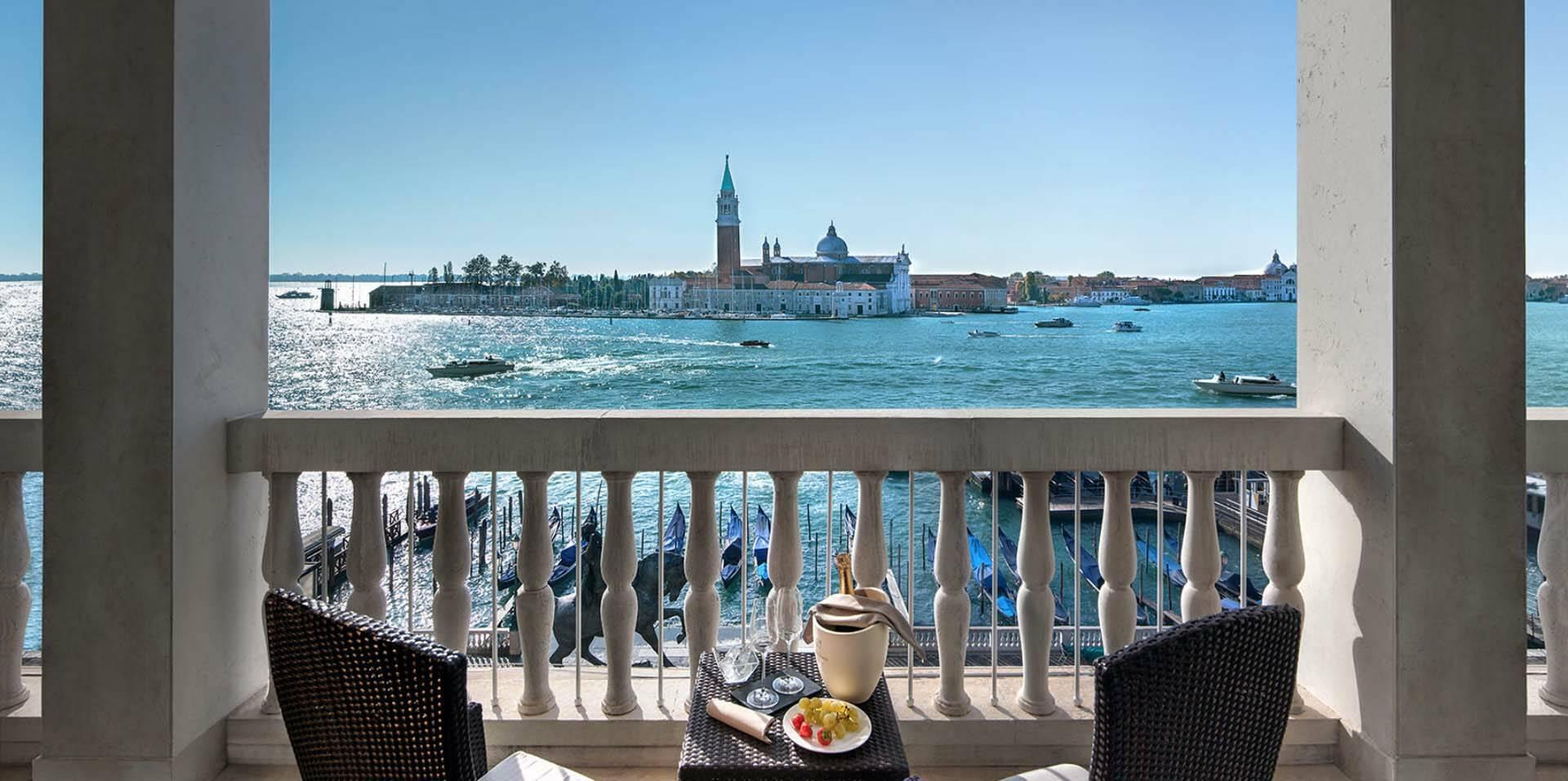 Venise Londra Palace terrasse