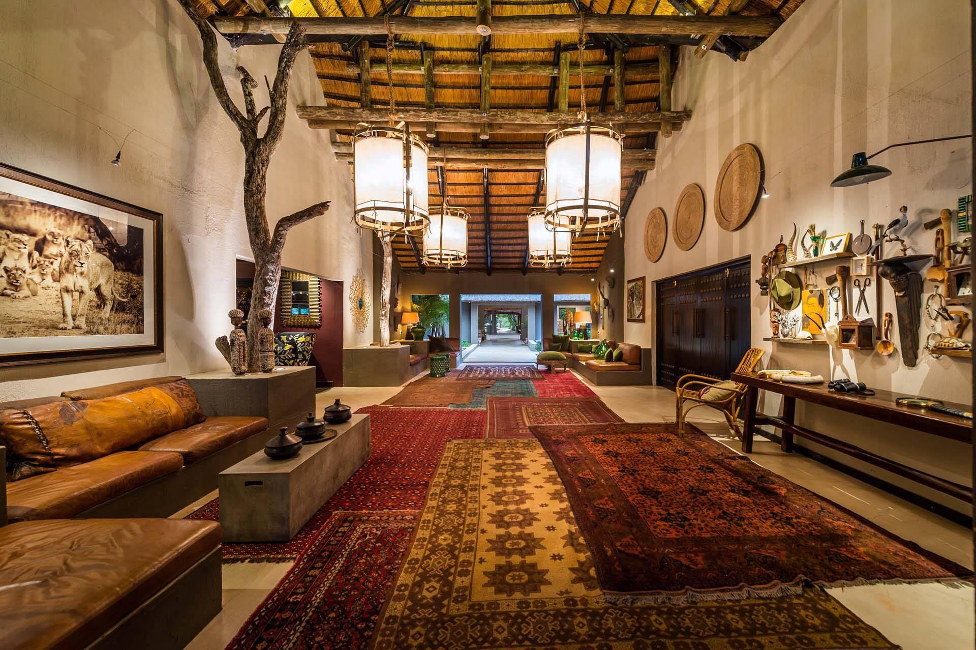 Sabi Sabi Bush Lodge Afrique du Sud Hall