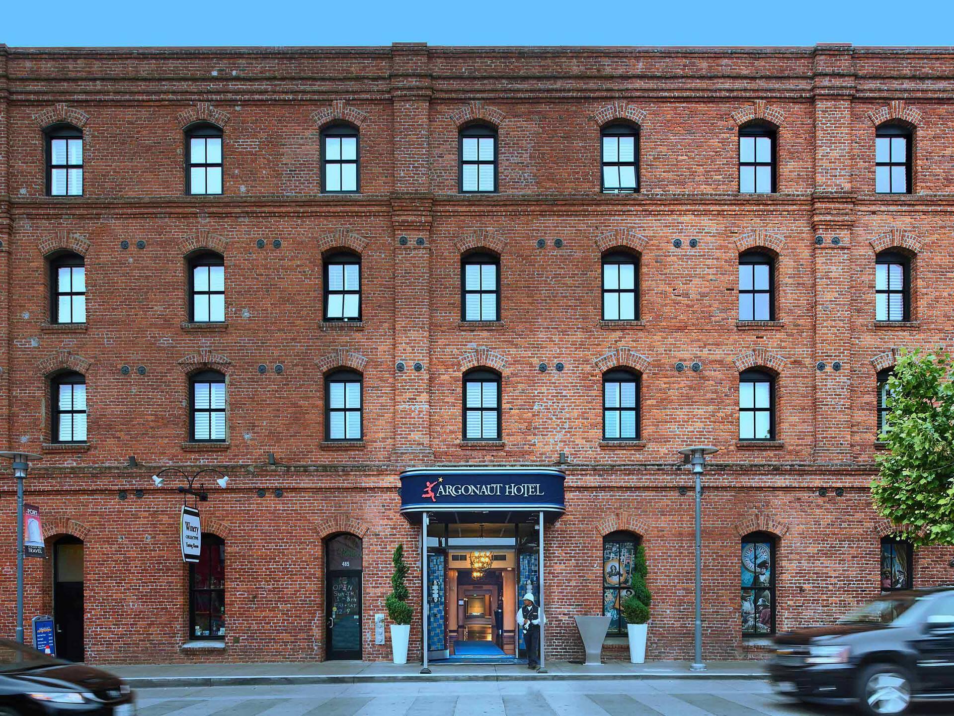 Argonaut Hotel Facade San Francisco Californie
