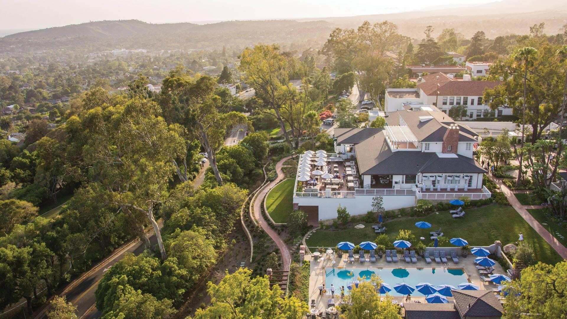 Belmond El Encanto Vue Santa Barbara Californie