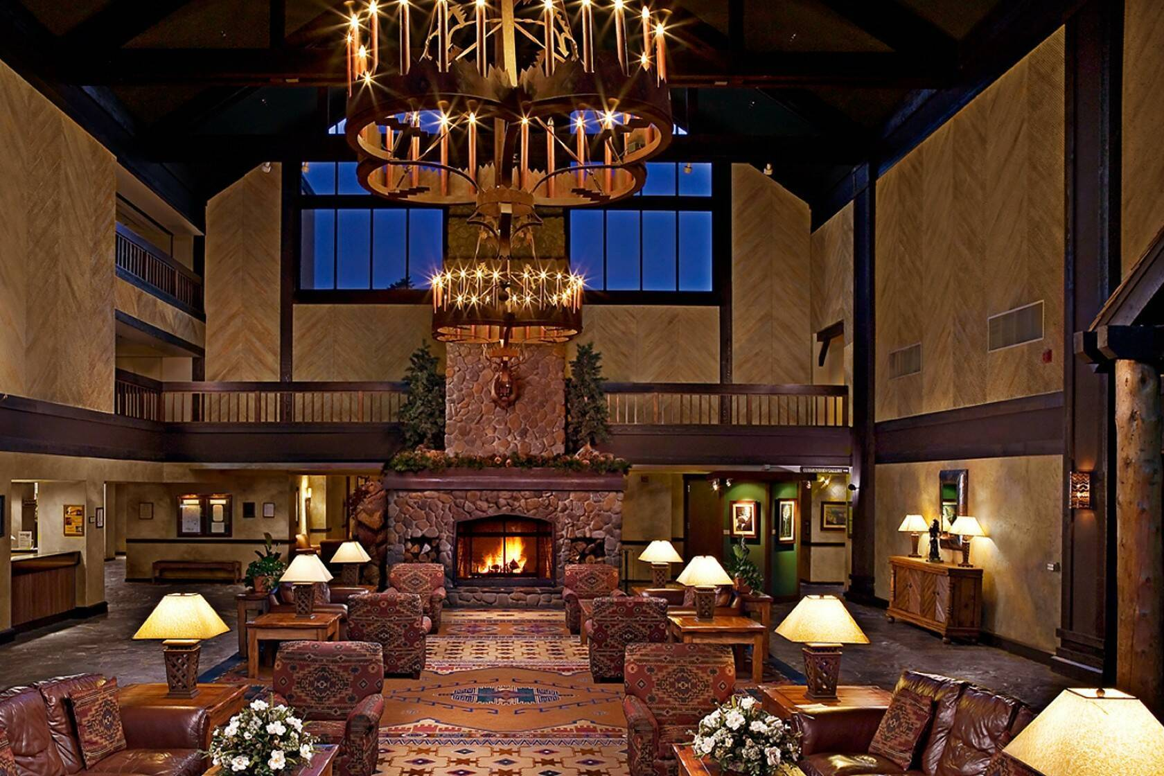 Tenaya Lodge Lobby Yosemite