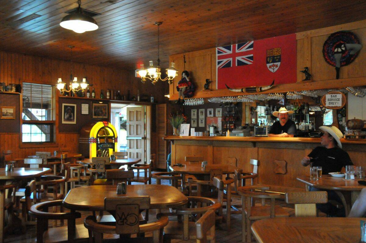 Wells Gray Guest Ranch Clearwater Saloon