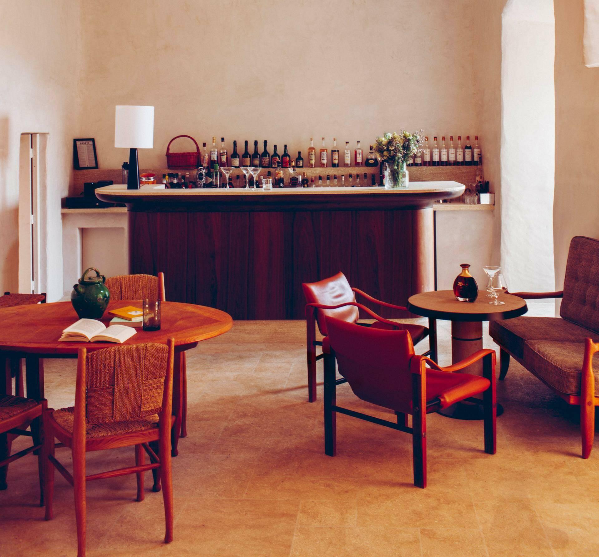 Hotel crillon le brave bar Provence Maisons Pariente