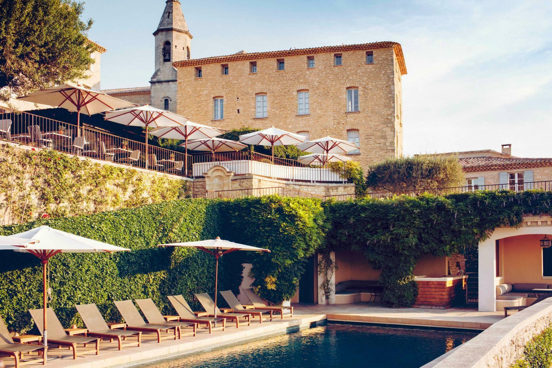 Hotel crillon le brave piscine Provence Maisons Pariente