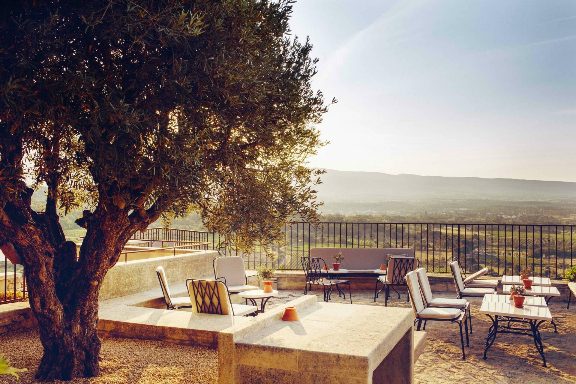 Hotel crillon le brave restaurant Provence Maisons Pariente