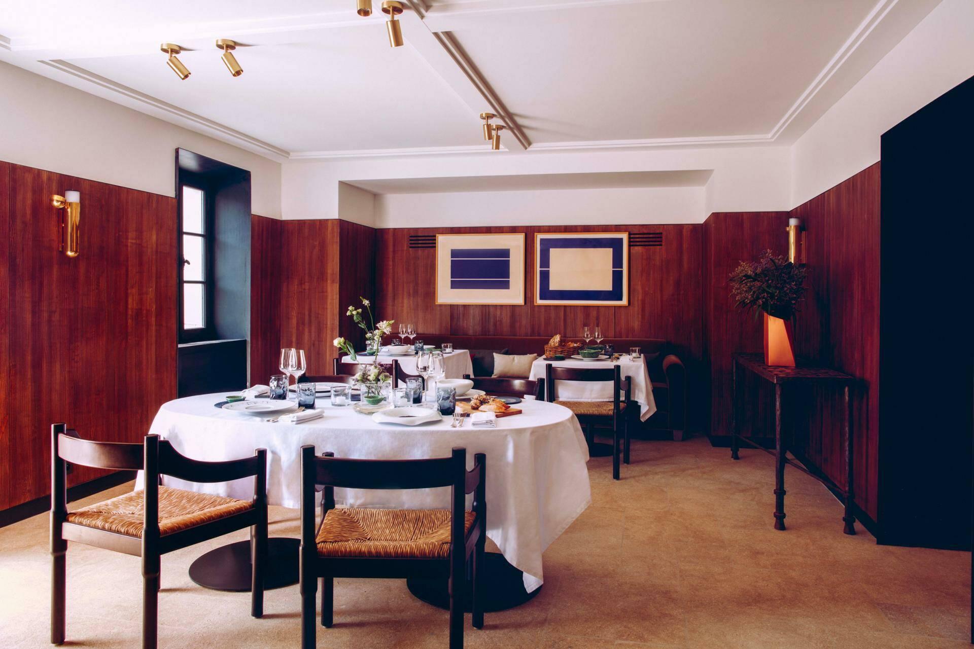 Hotel crillon le brave restaurant interieur Provence Maisons Pariente