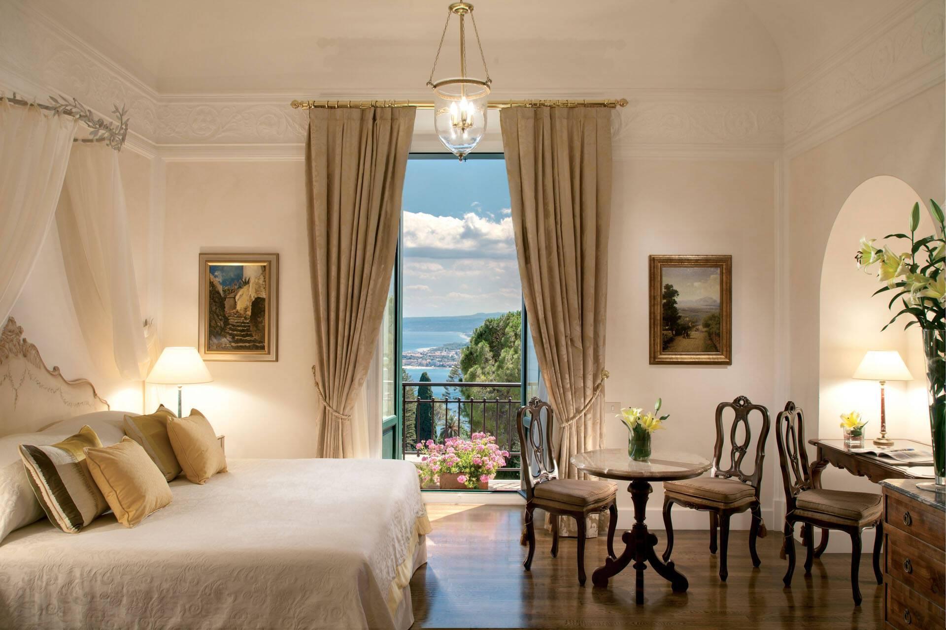 Grand Hotel Timeo Taormine Sicile Chambre