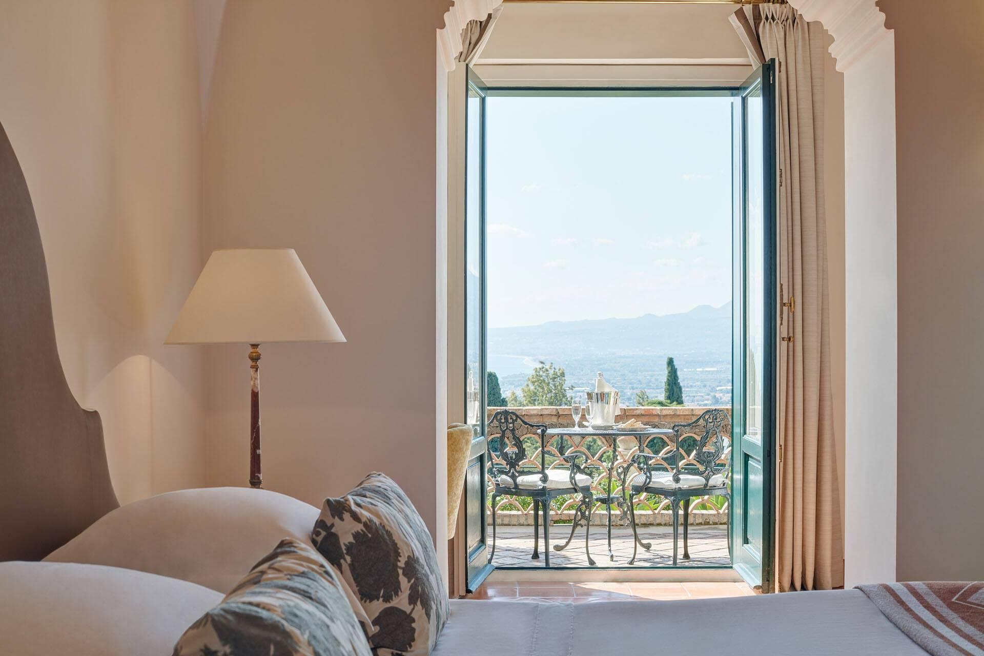 Grand Hotel Timeo Taormine Sicile Chambre Terrasse