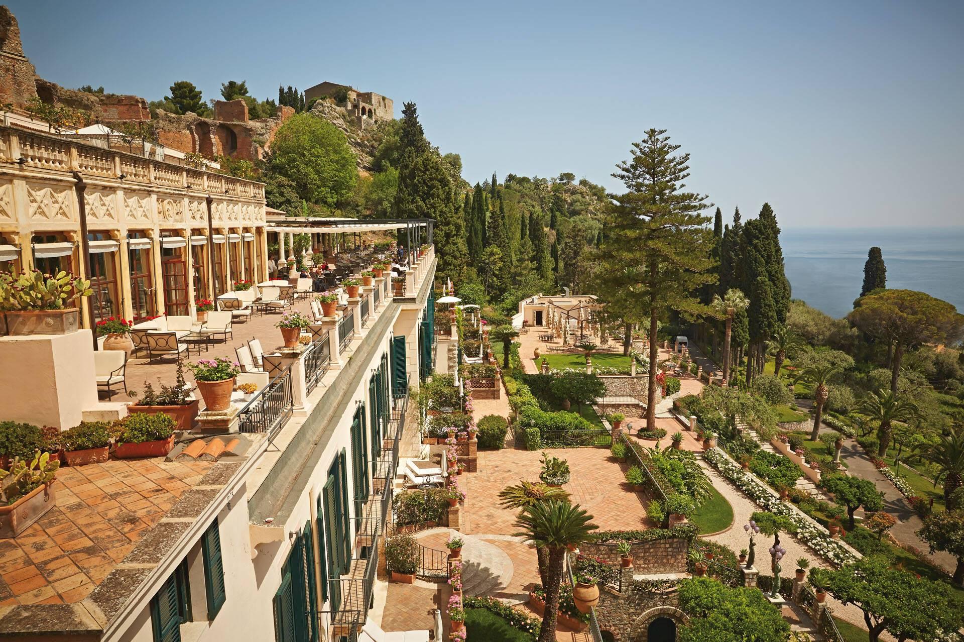 Grand Hotel Timeo Taormine Sicile Hotel
