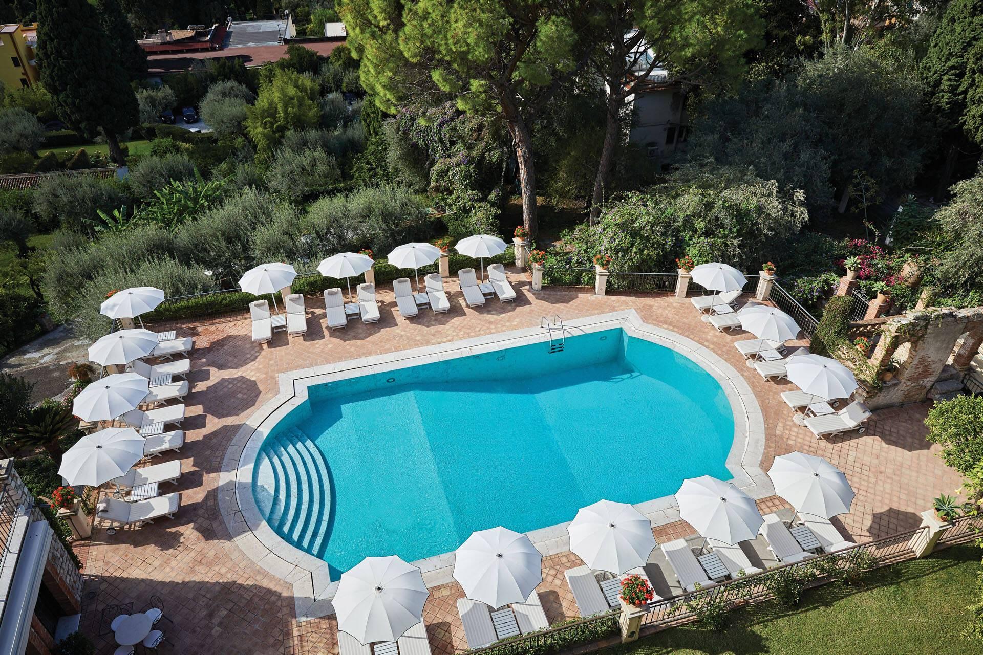 Grand Hotel Timeo Taormine Sicile Piscine