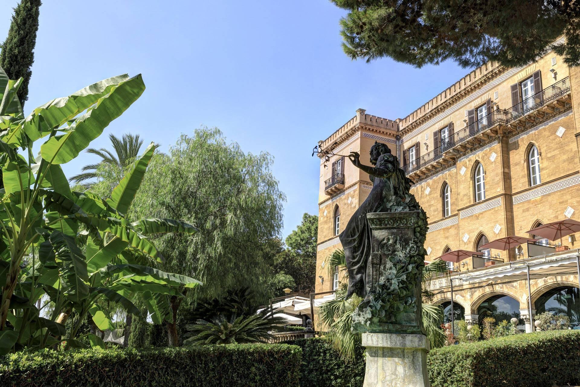 Villa Igiea Palerme Sicile Hotel
