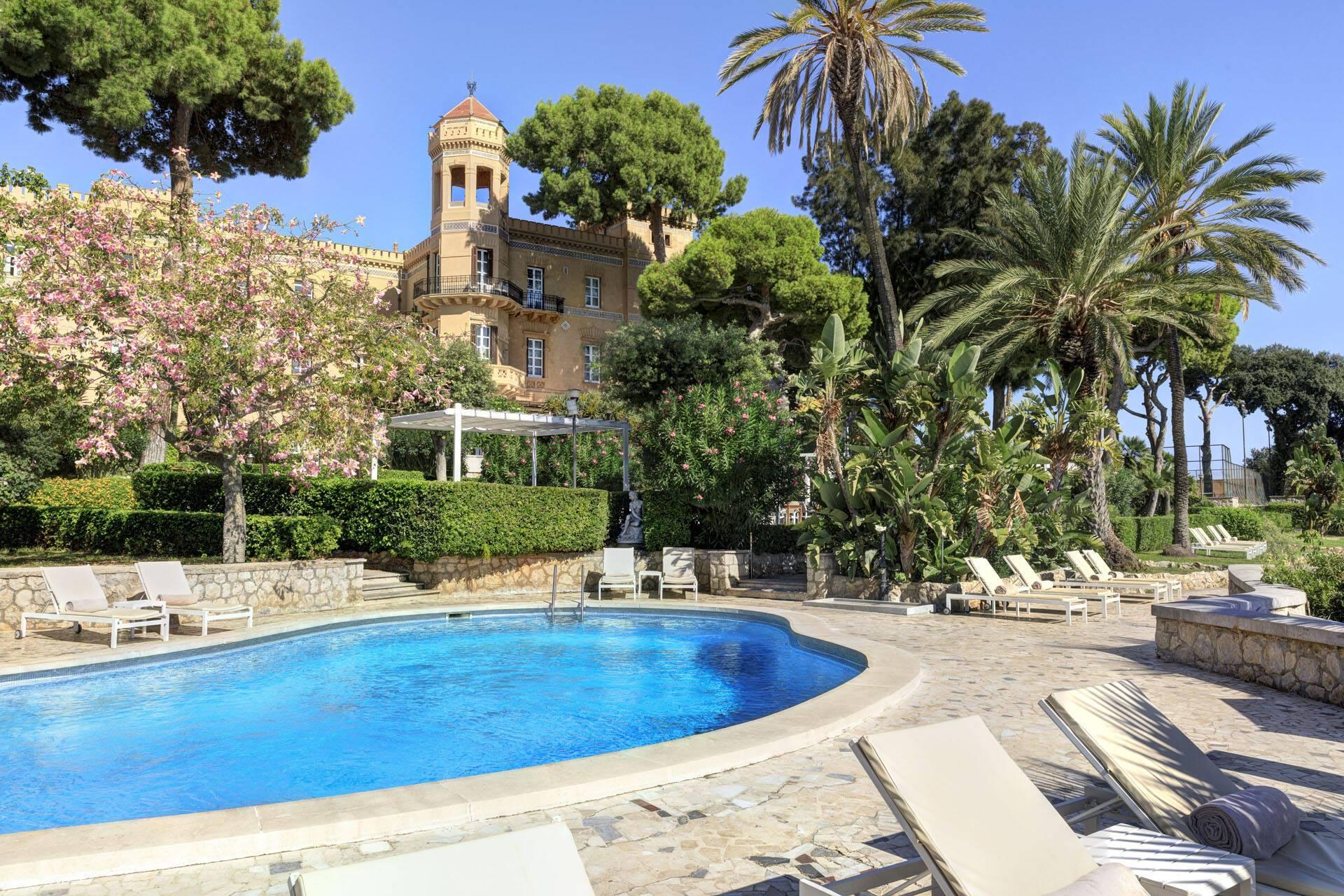 Villa Igiea Palerme Sicile Piscine