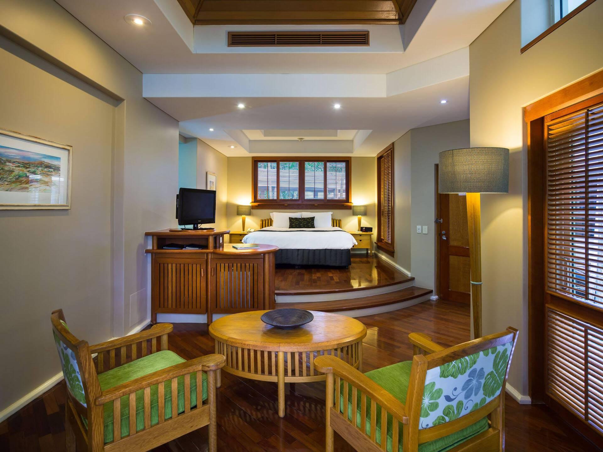 Cairns Green Island Resort Chambre