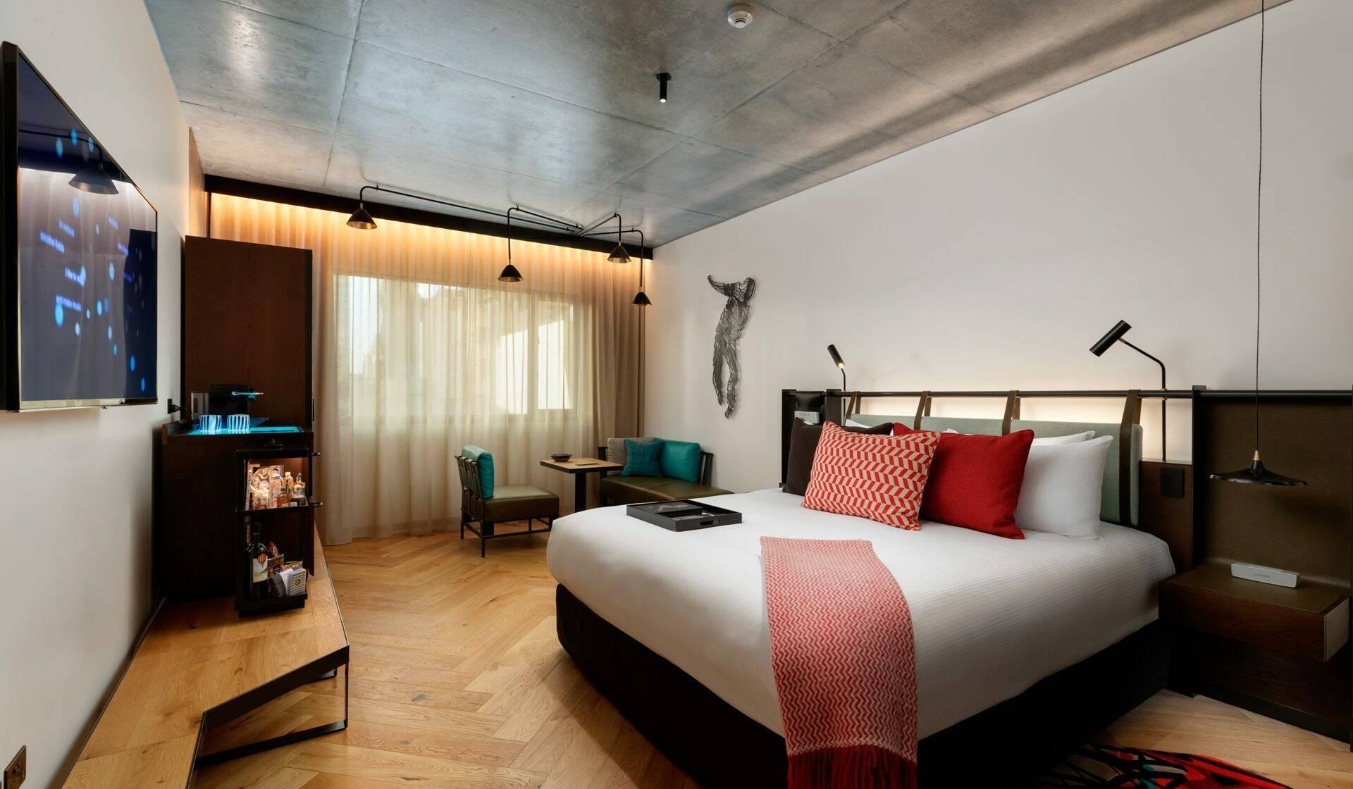 Melbourne QT Hotel Chambre