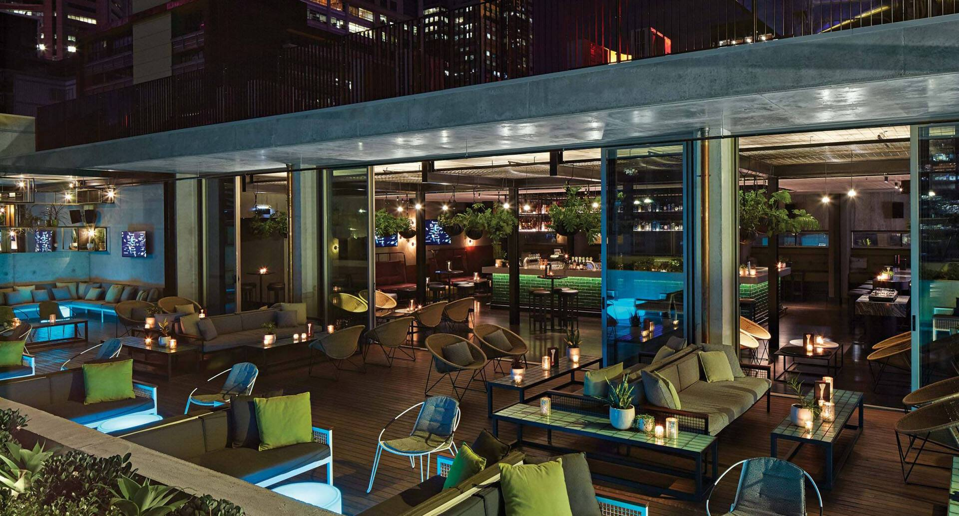 Melbourne QT Hotel Rooftop