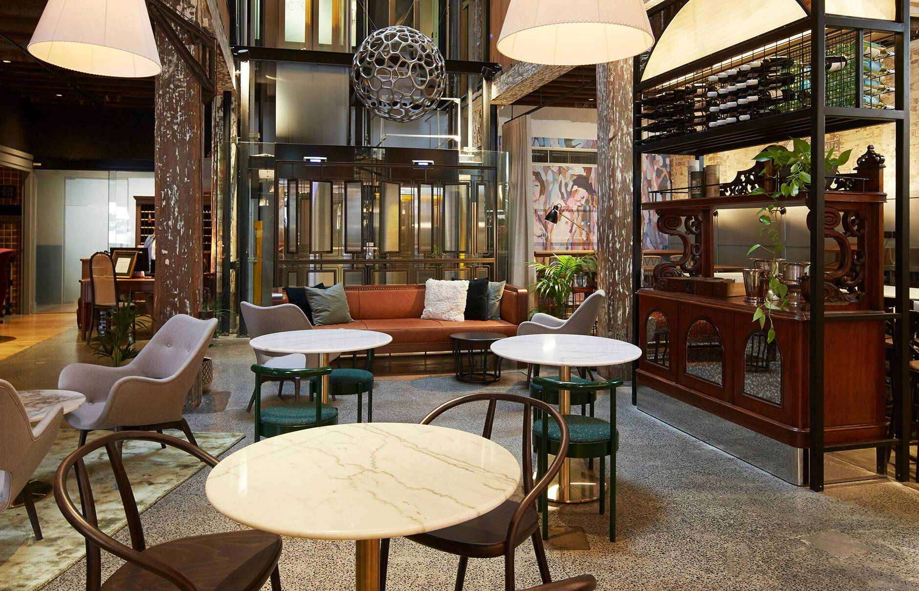 Sydney Ovolo 1888 Lobby
