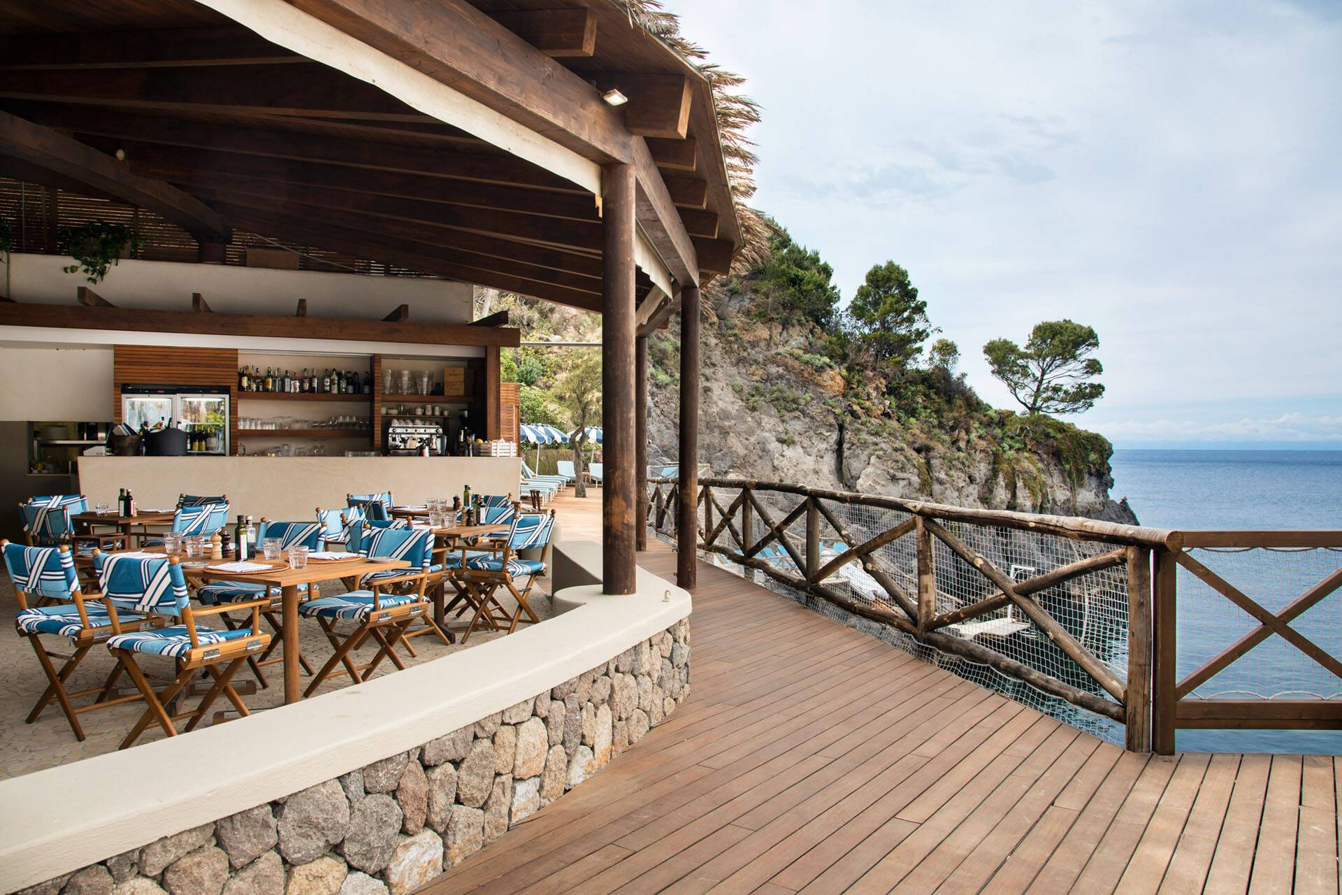 Mezzatorre Ischia Restaurant La Baia