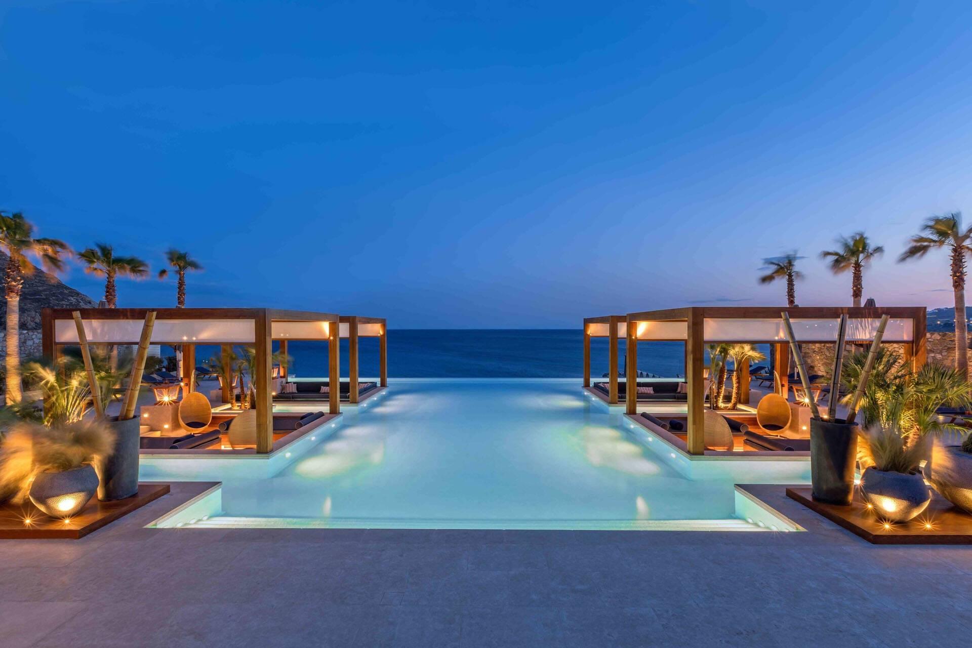 Santa Marina Mykonos oasis pool