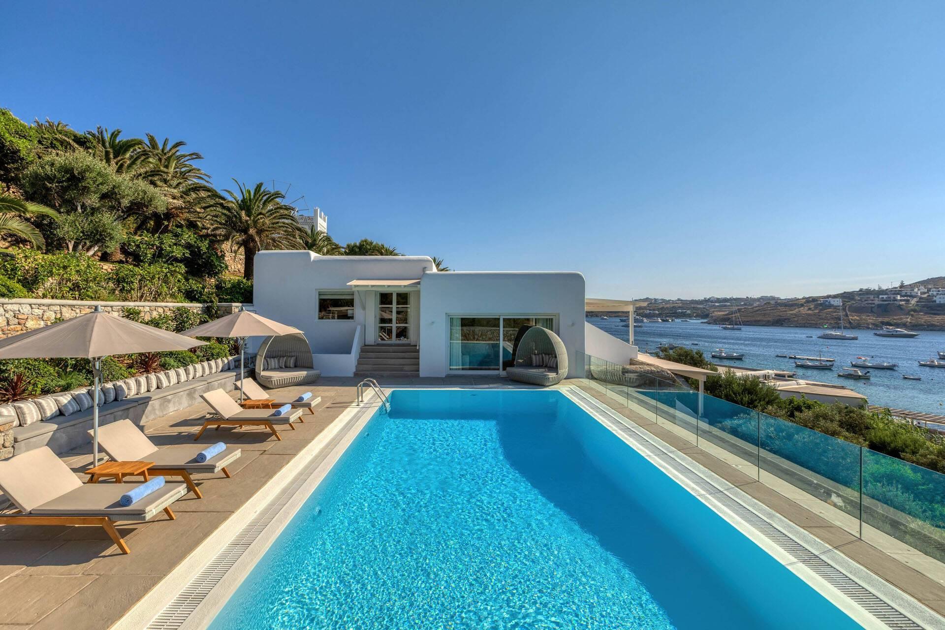 Santa Marina Mykonos turquoise villa
