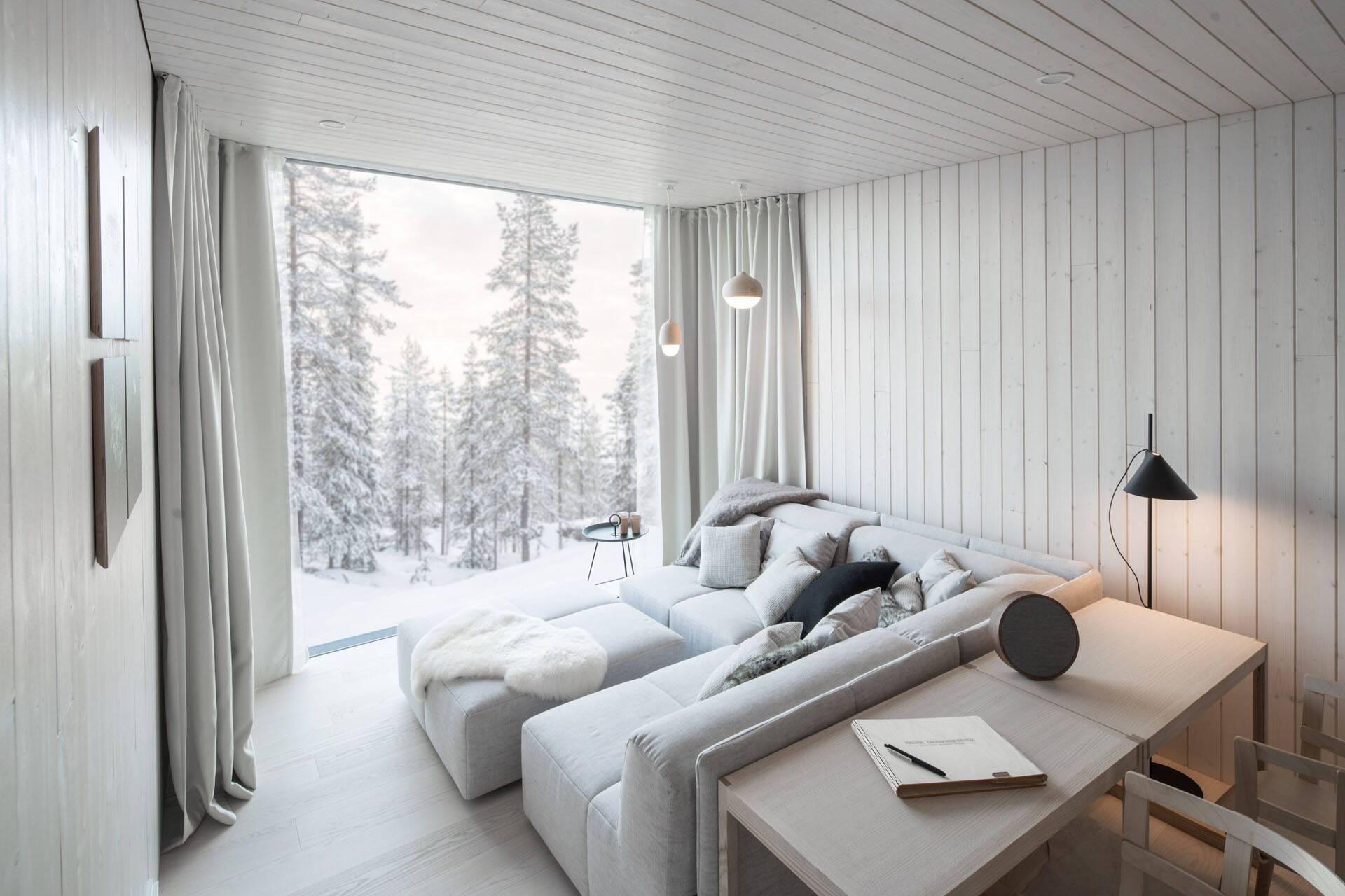 Arctic TreHouse Finlande chambre