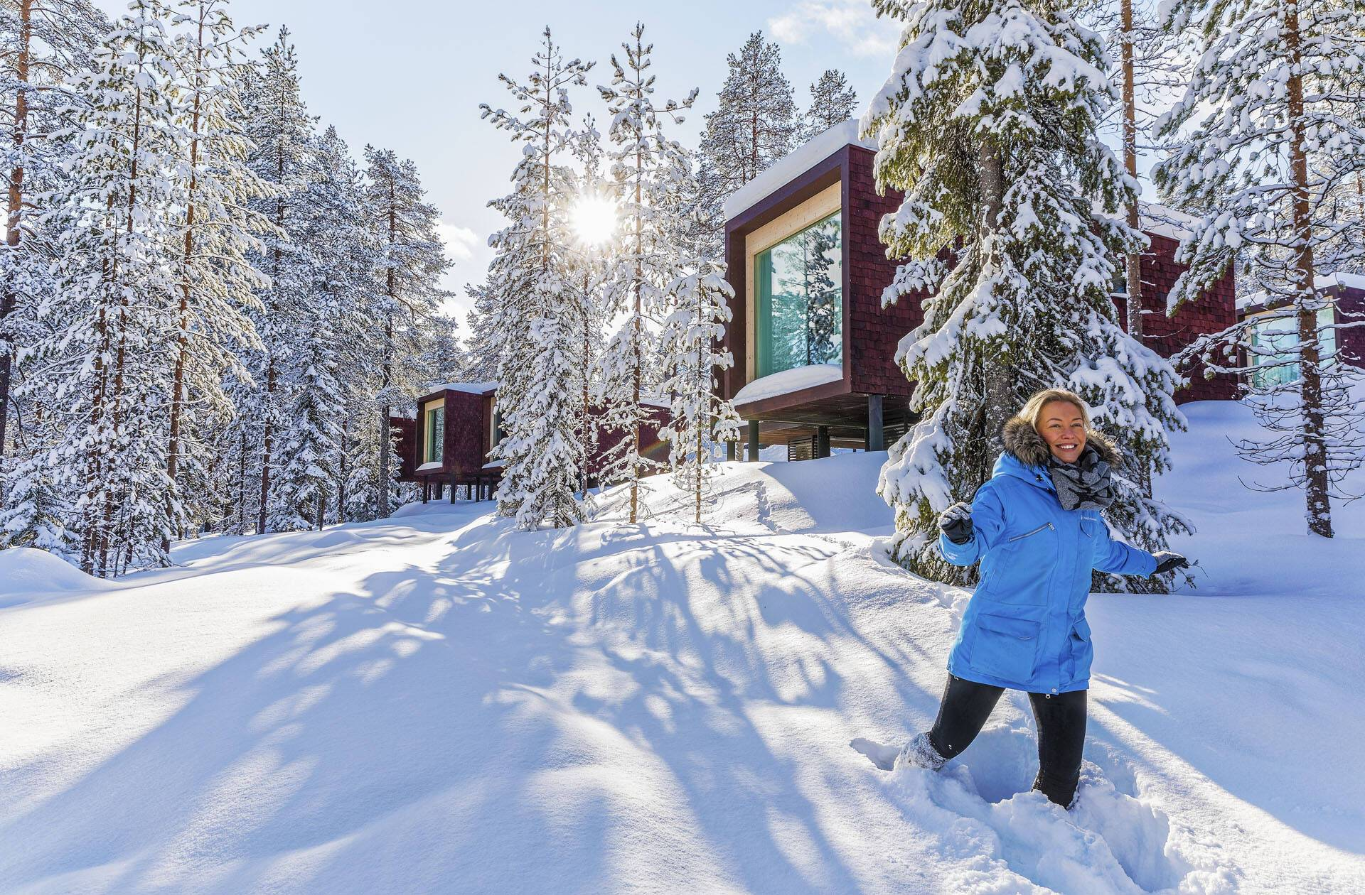 Laponie Finlandaise Arctic Hiver