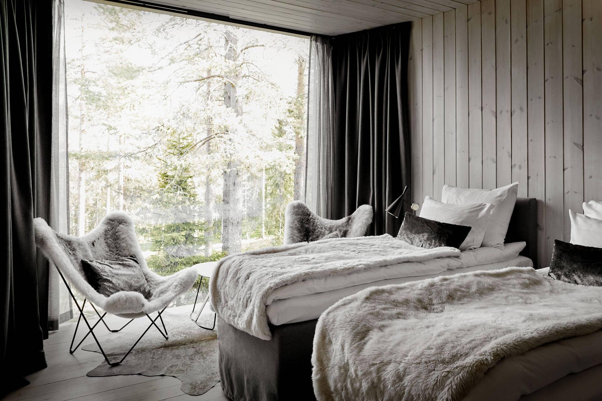 Laponie Finlandaise Arctic TreeHouse Chambre