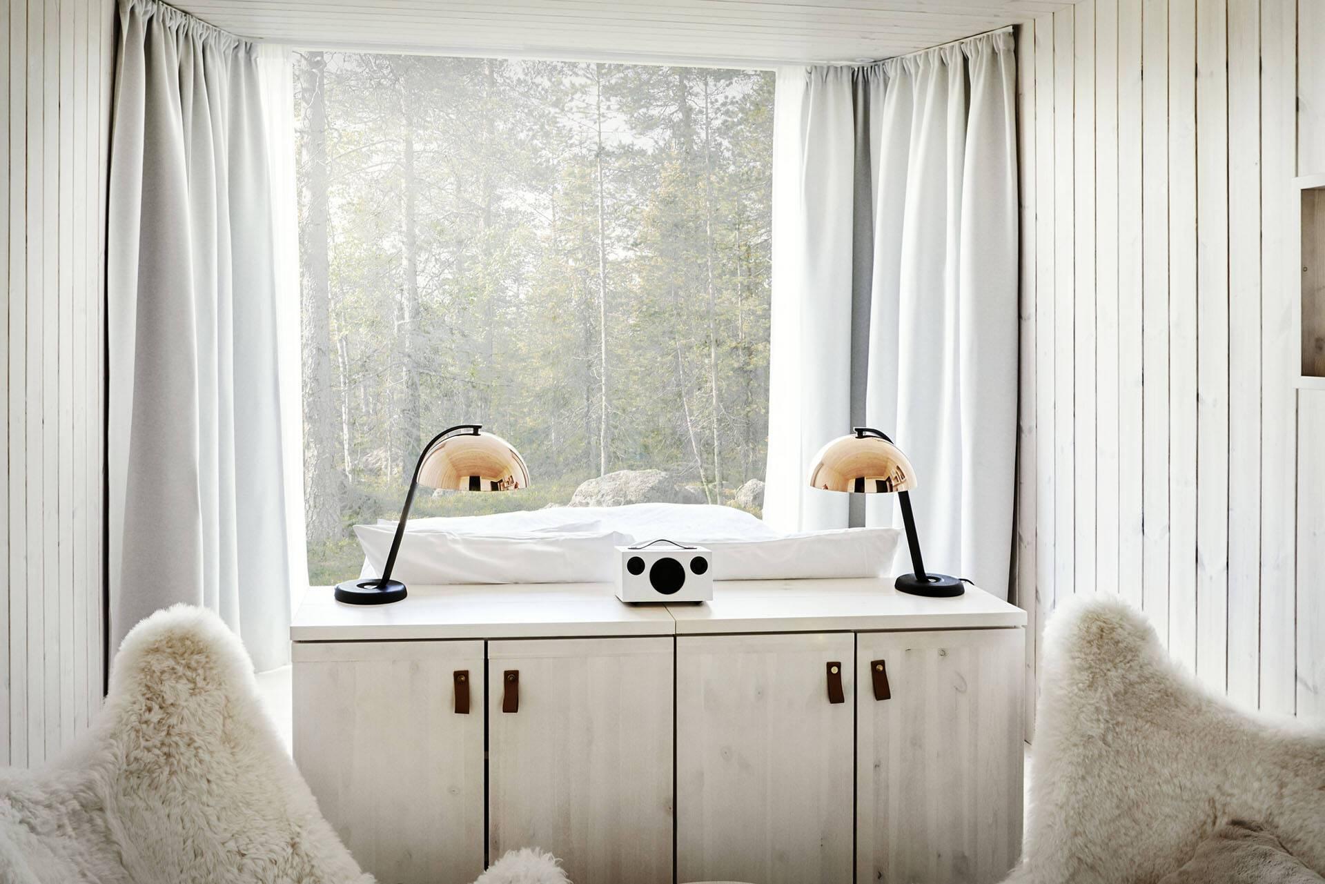 Laponie Finlandaise Arctic TreeHouse Vue