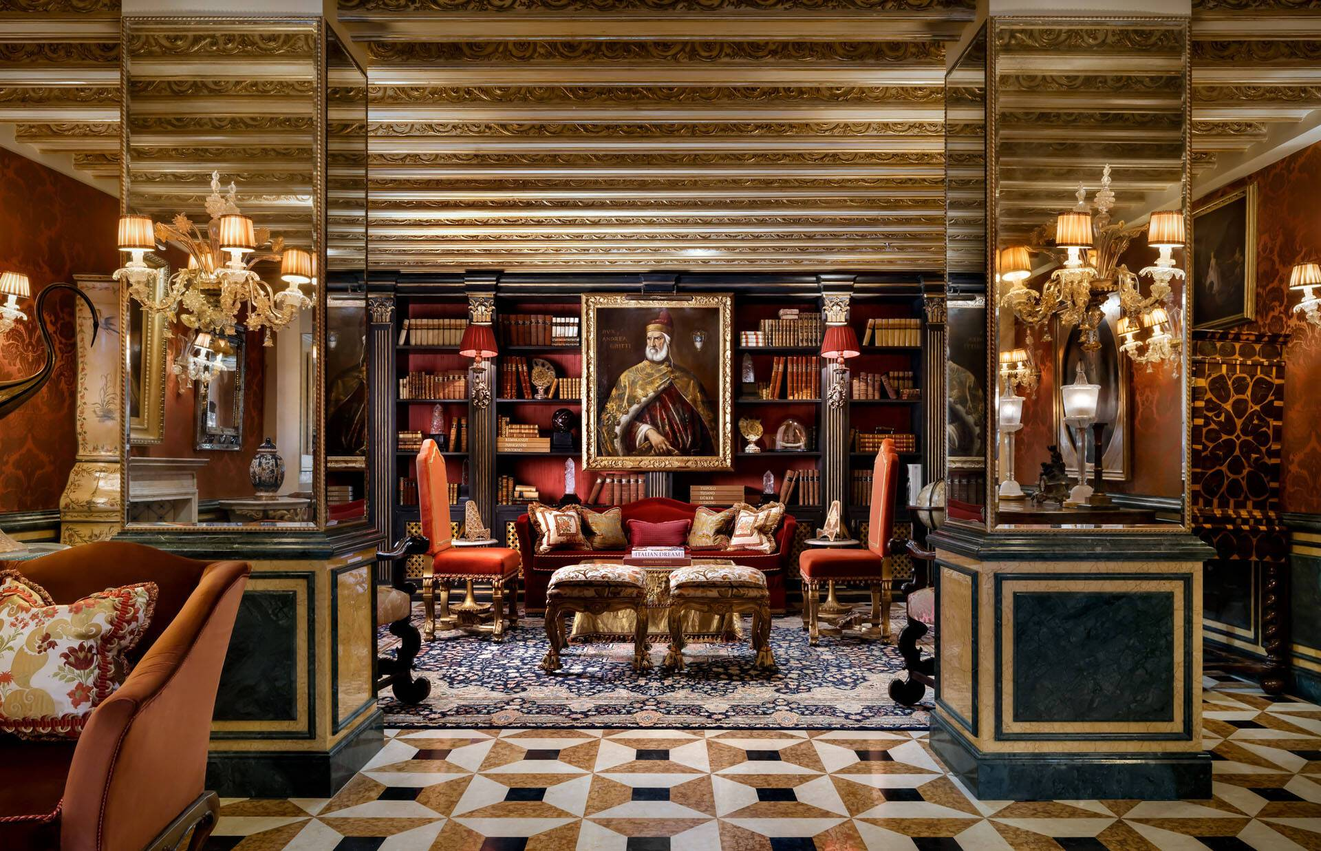 Venise The Gritti Palace Library