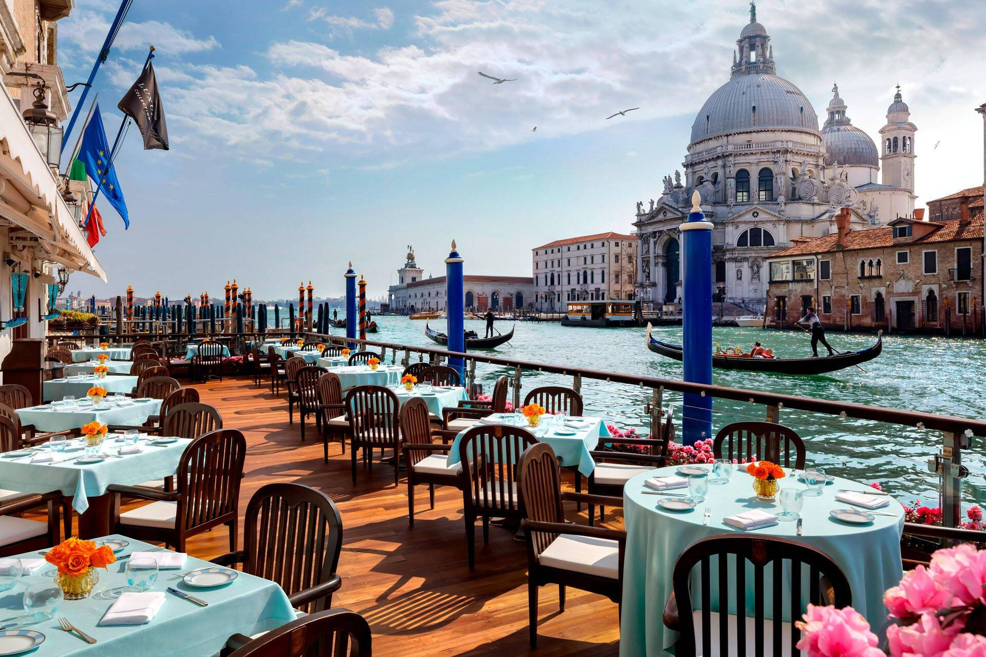 Venise The Gritti Palace Terrasse