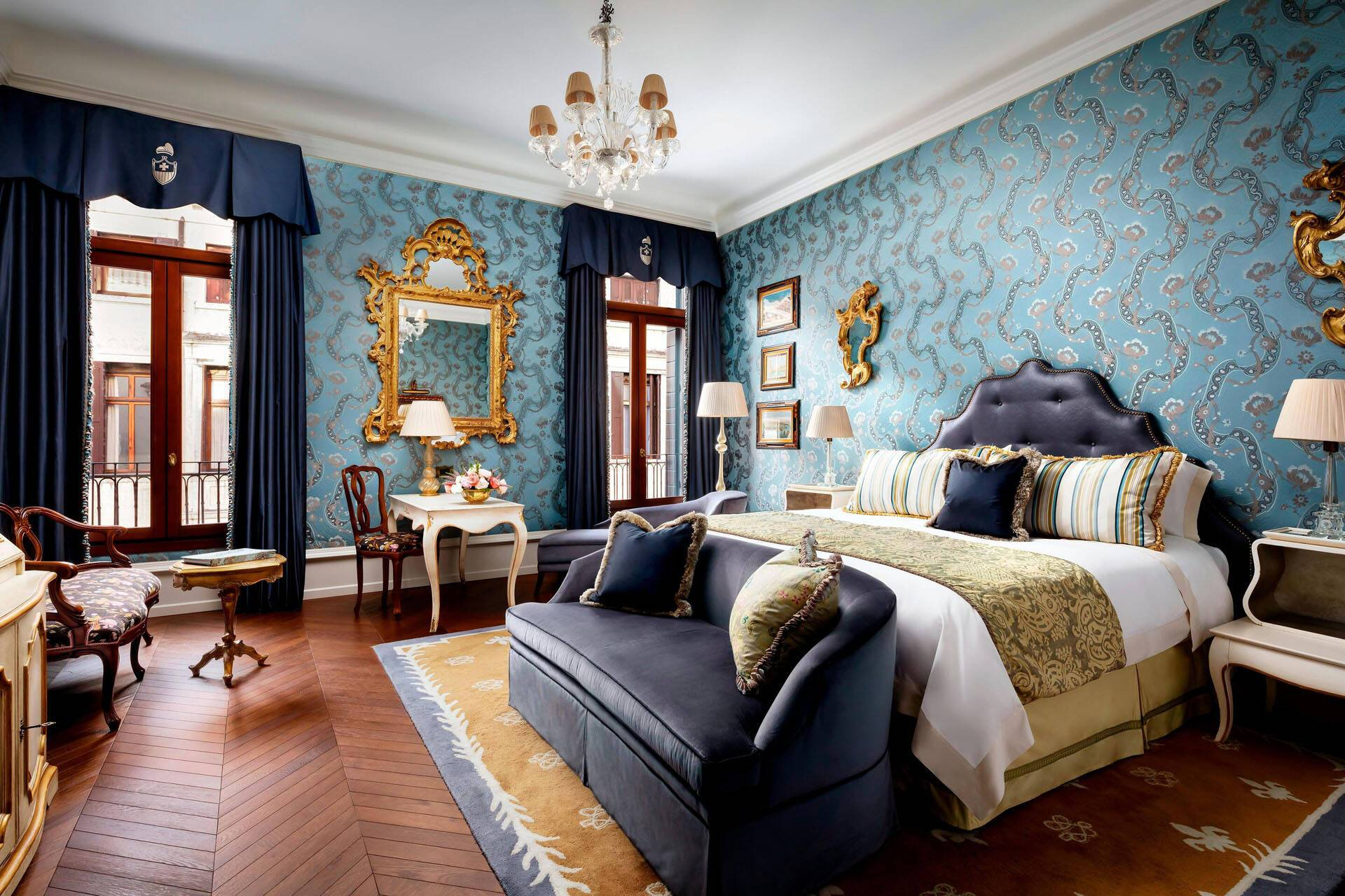 Venise The Gritti Palace king guestroom