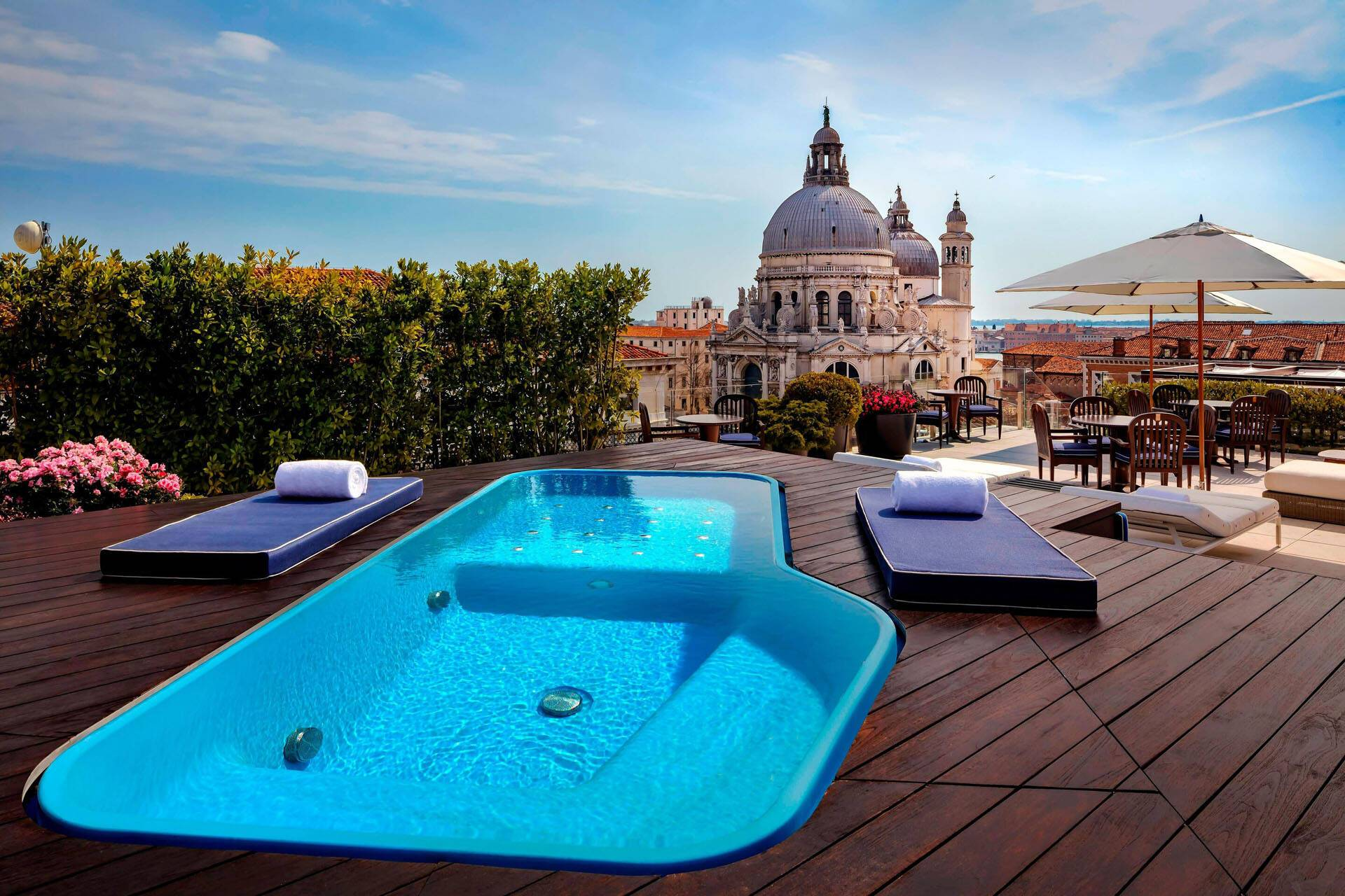 Venise The Gritti Palace plunging pool
